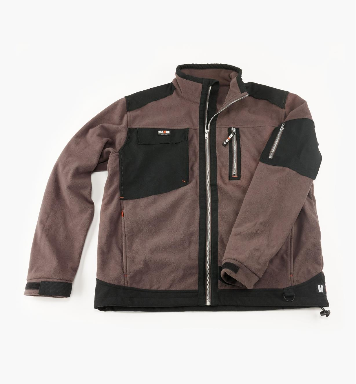 Herock Water-Resistant/Breathable Fleece Jacket, Gray