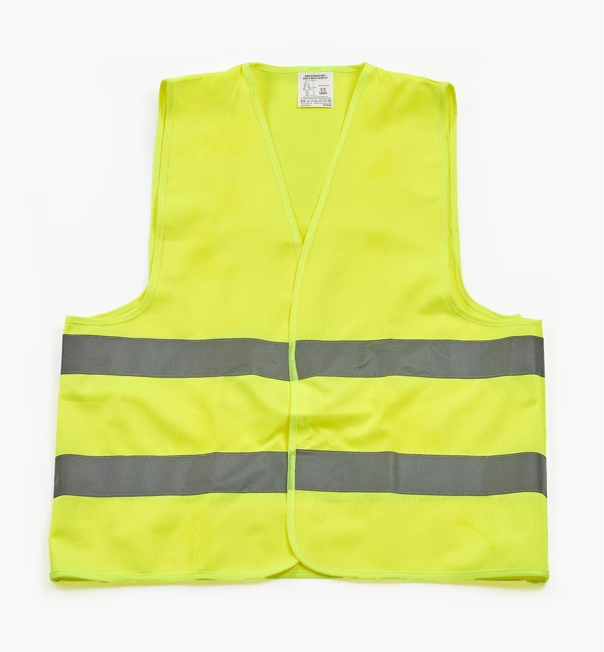 09A0926 - High-Visibility Vest, Large