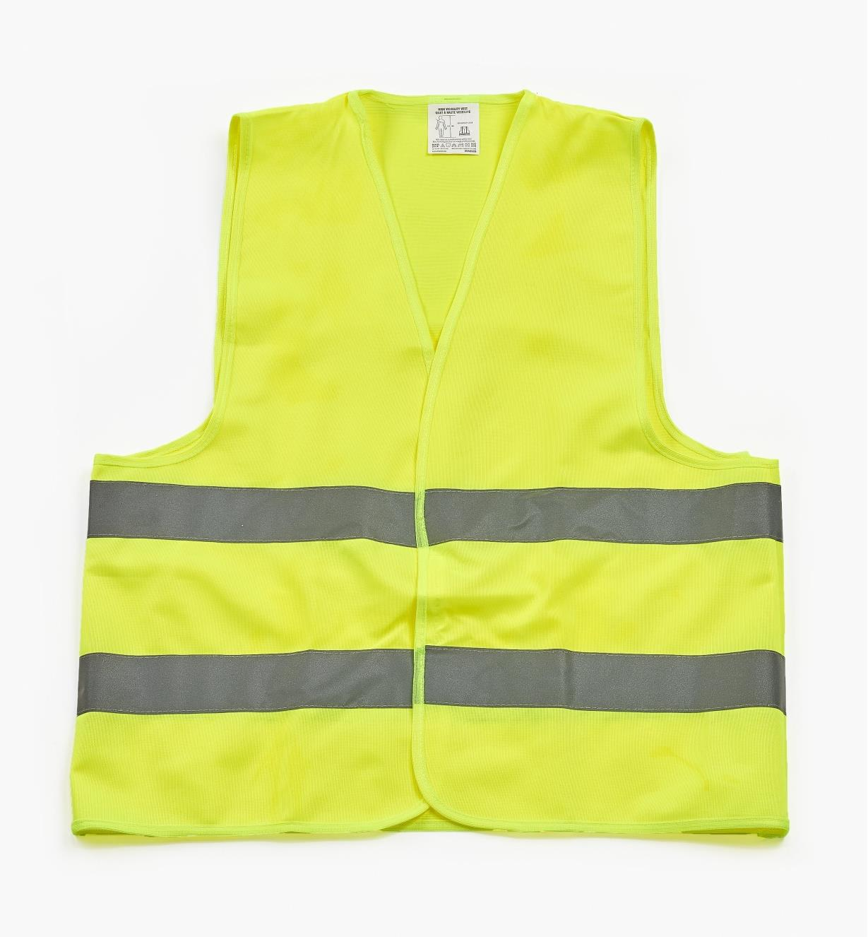 09A0927 - High-Visibility Vest, X-Large
