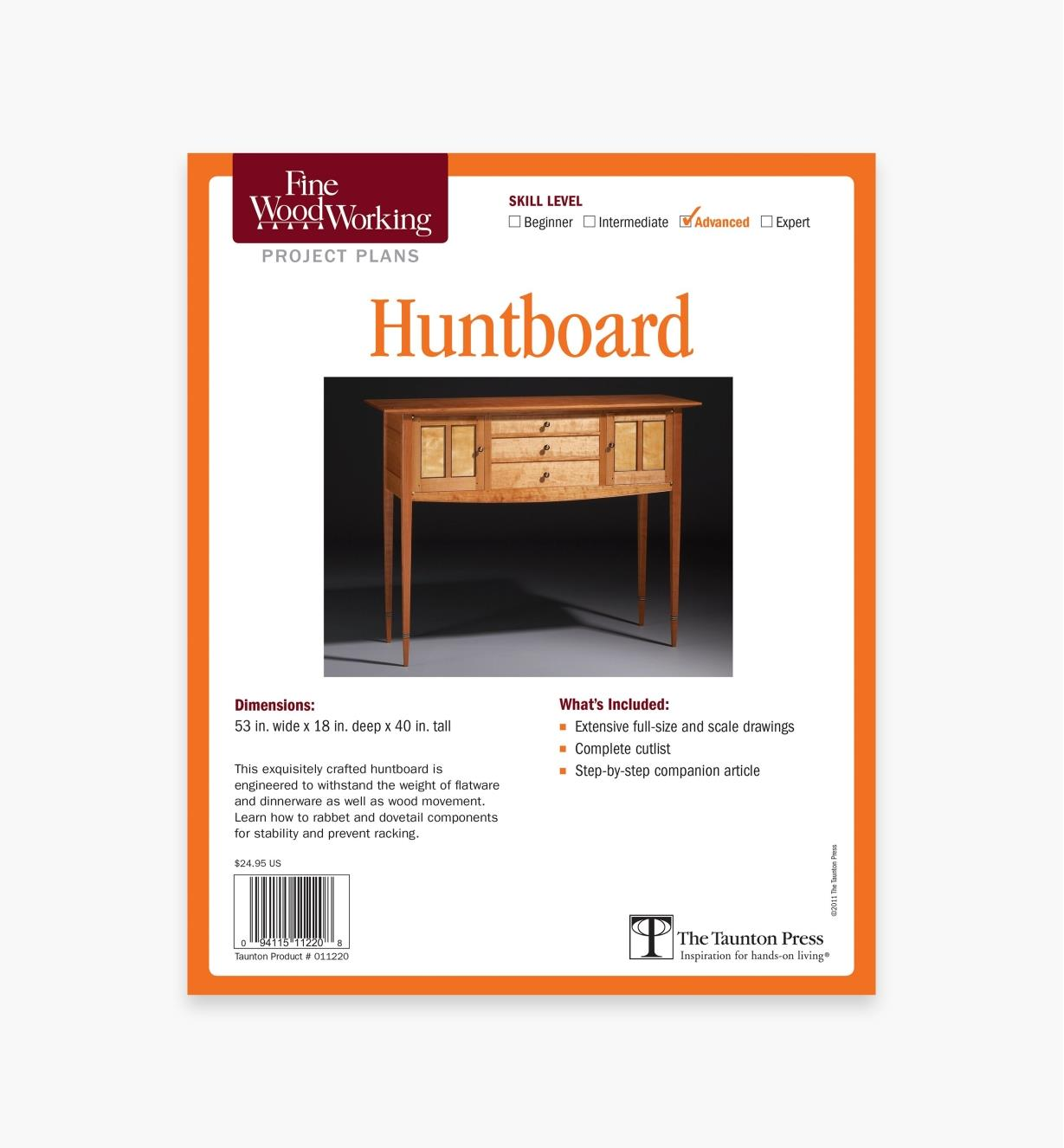 73L2509 - Huntboard Plan
