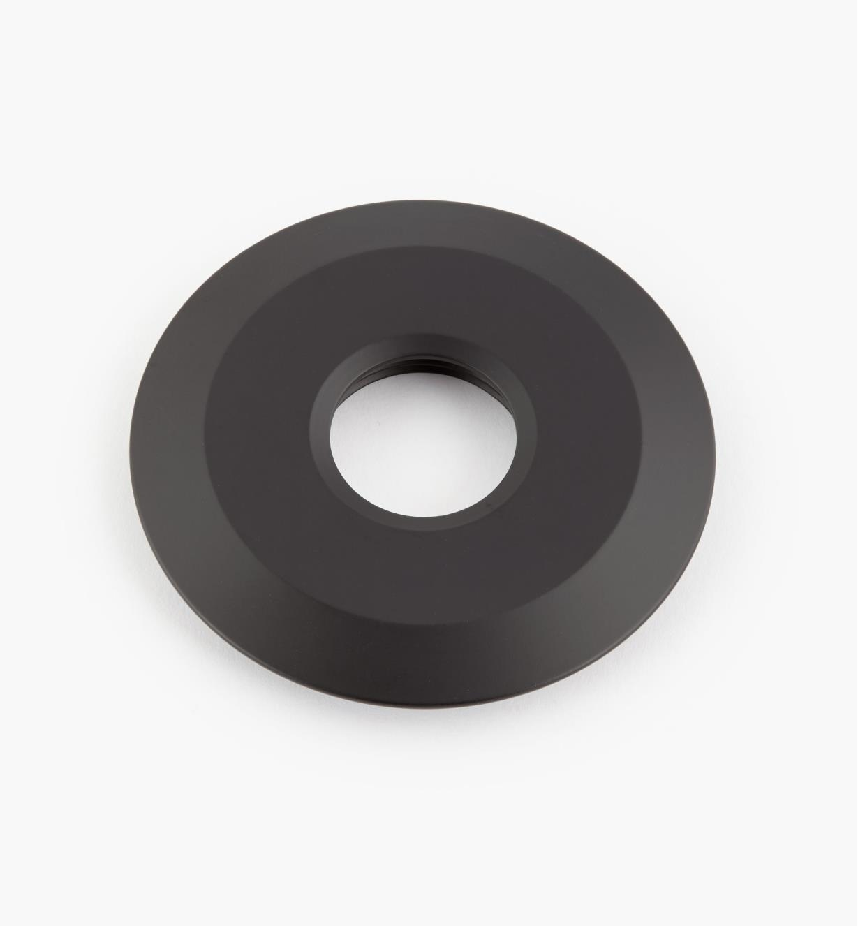"00U4361 - 2 3/4"" Black Round Aluminum Trim Ring"