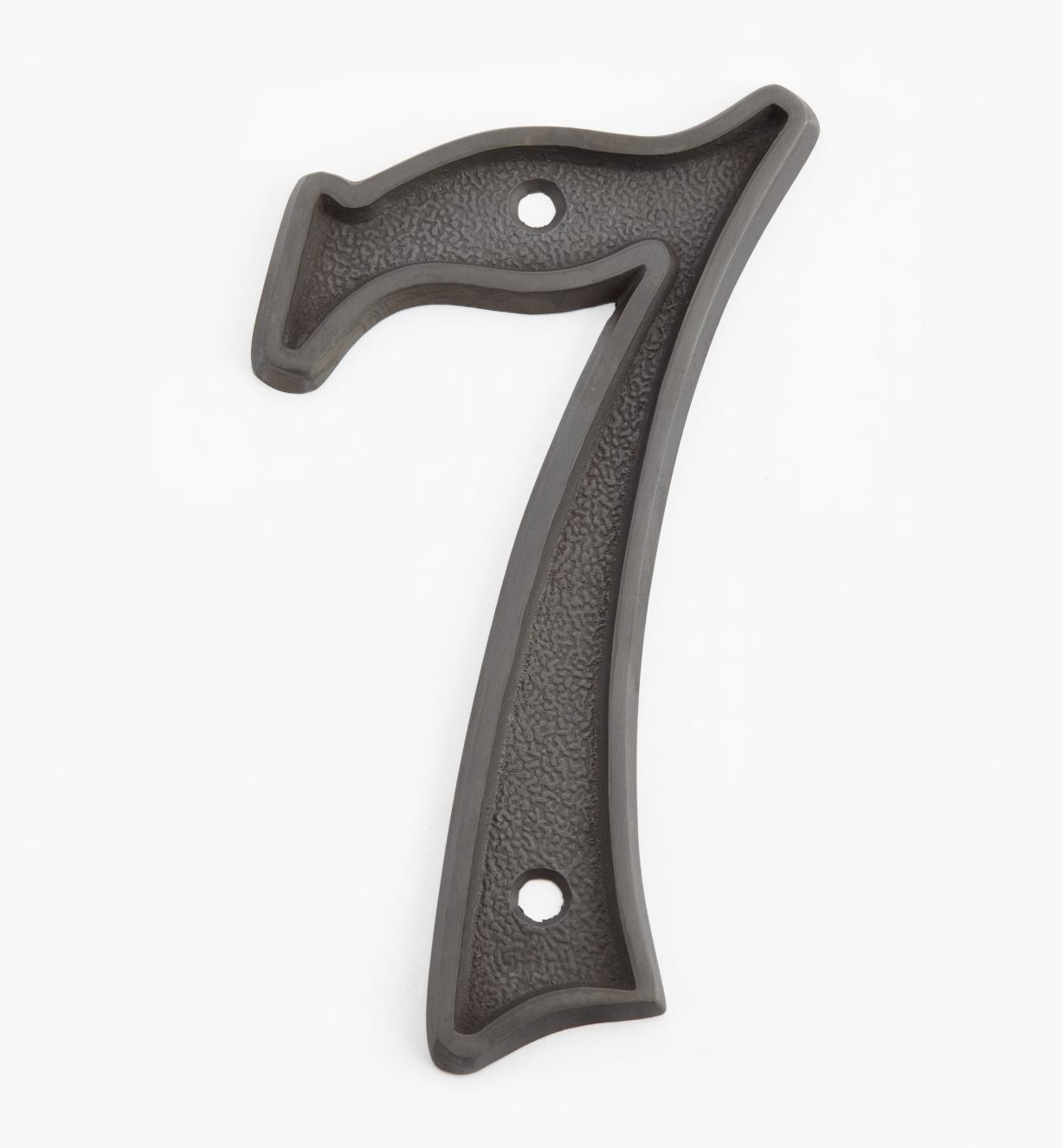 "00W0537 - 5"" Italic Oil-Rubbed Bronze Number - 7"