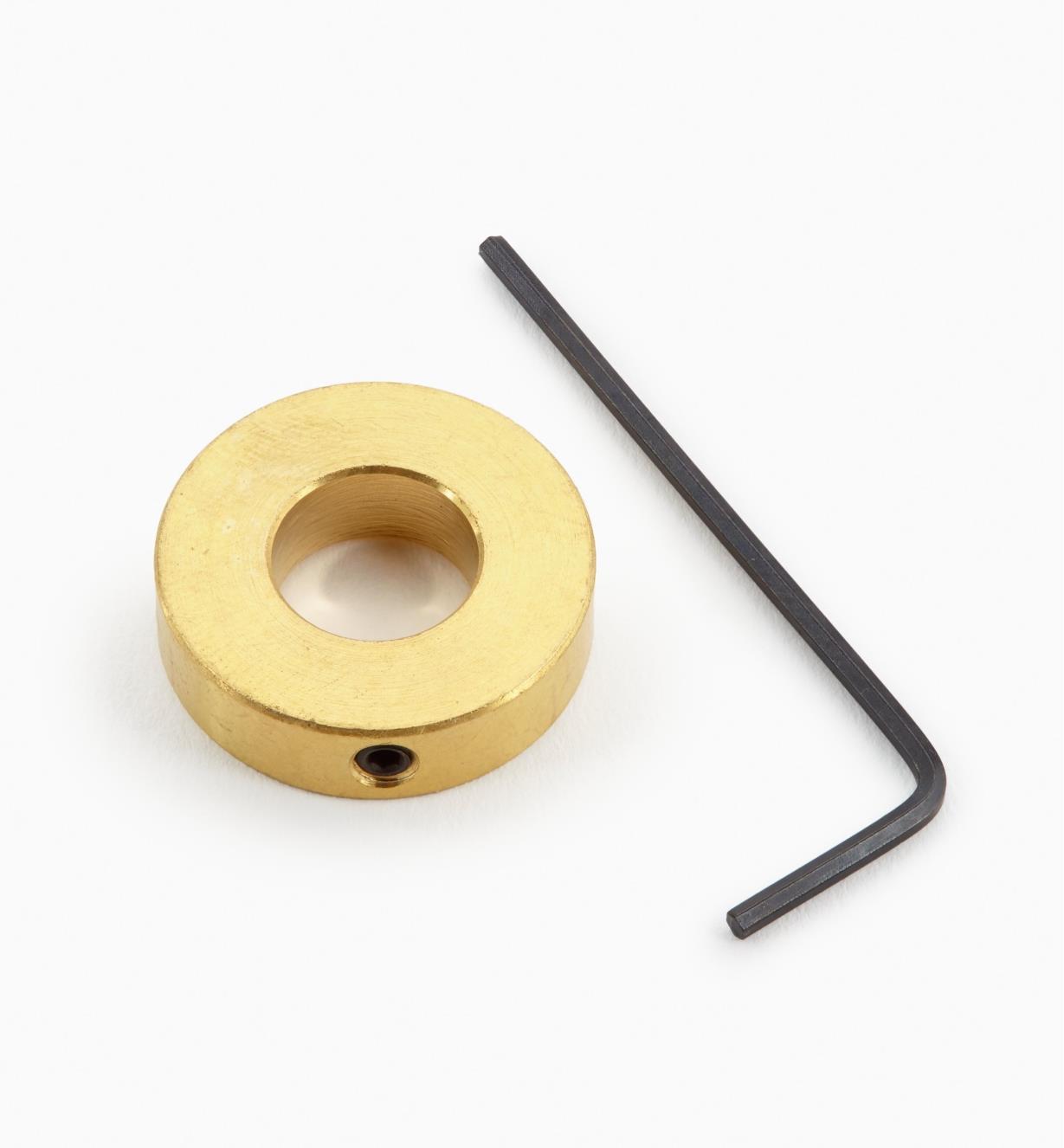 04J2801 - Rondelle d'incrustation et clé