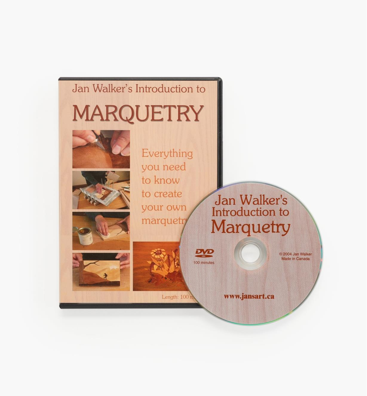 50L0105 - Introduction to Marquetry DVD