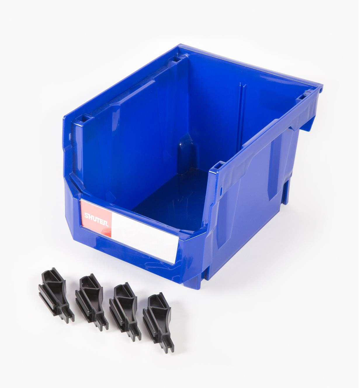 68K4264 - 175mm x 170mm x 245mm Stackable Storage Bin