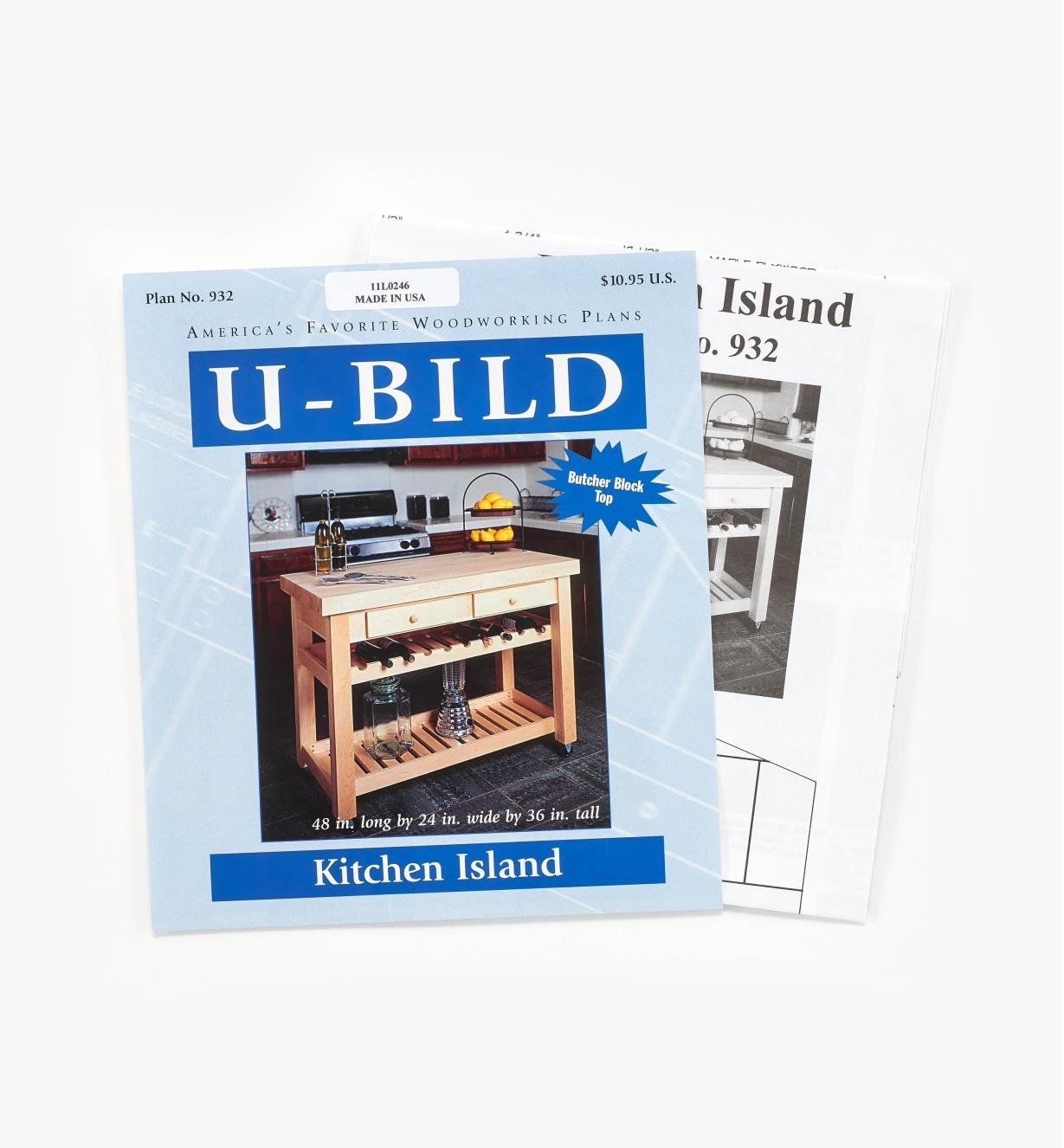 11L0246 - Kitchen Island Plan