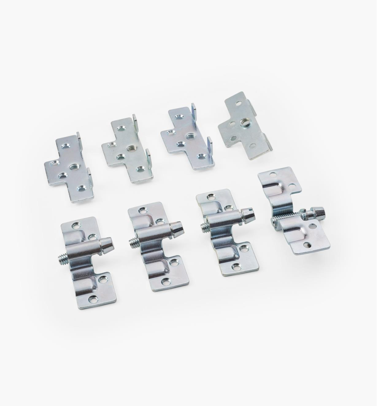94K0230 - Regular Knock-Down Bed Brackets (4)