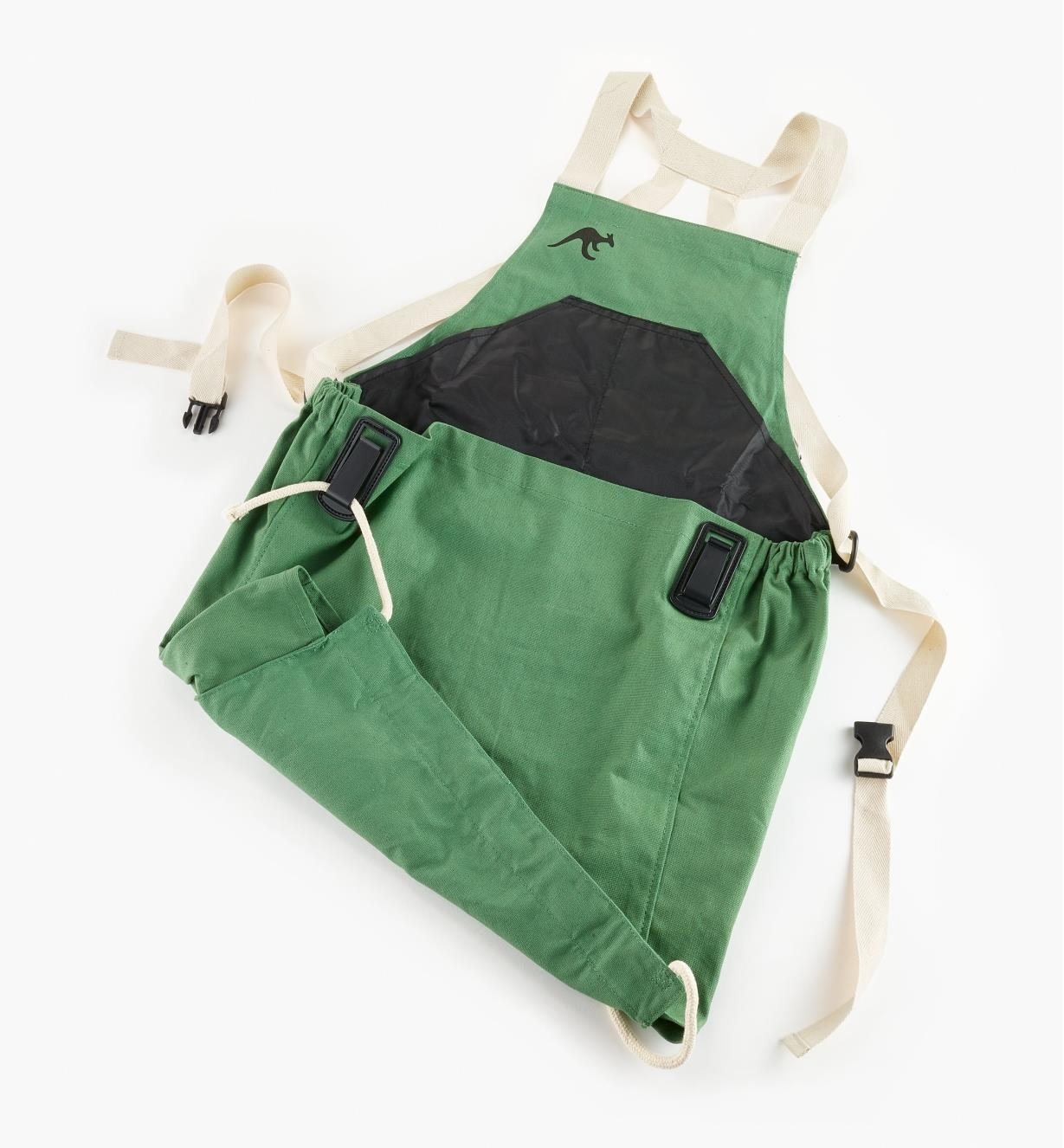 EP232 - Kangaroo Pocket Apron, Green