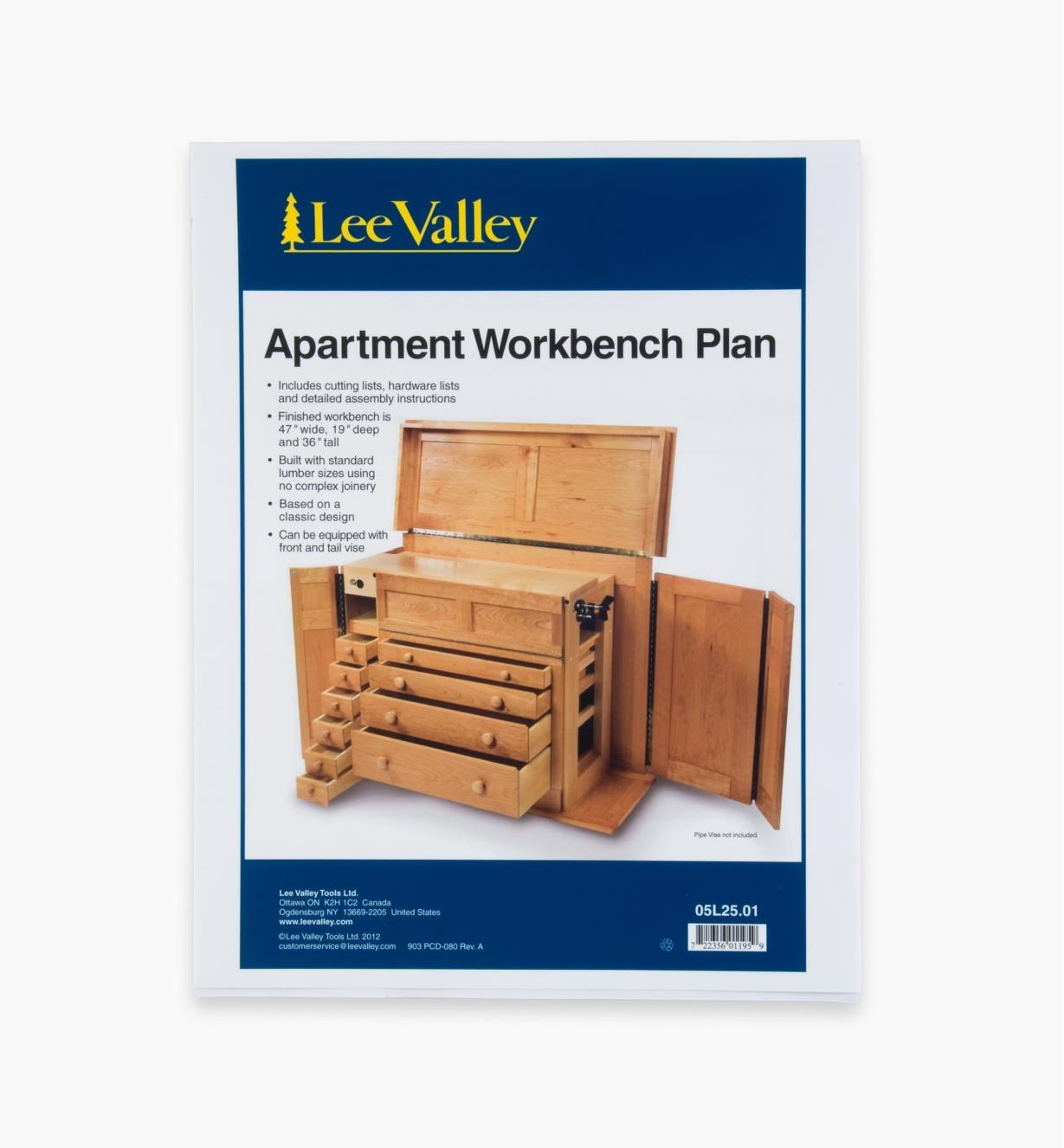 Apartment Workbench Plan