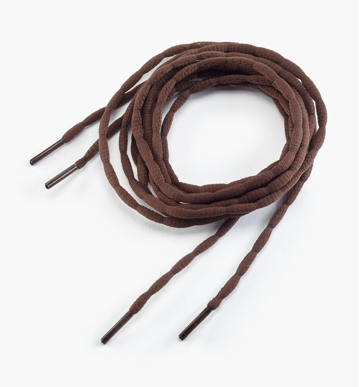 "09A0664 - 54"" Brown Bubble Laces, pr."