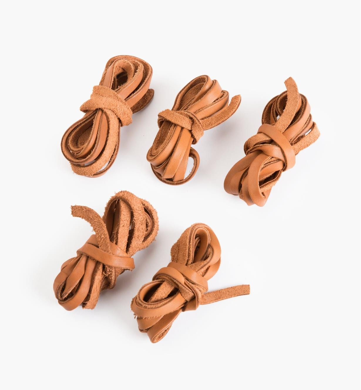33K9113 - Leather Cords, pkg. of 5