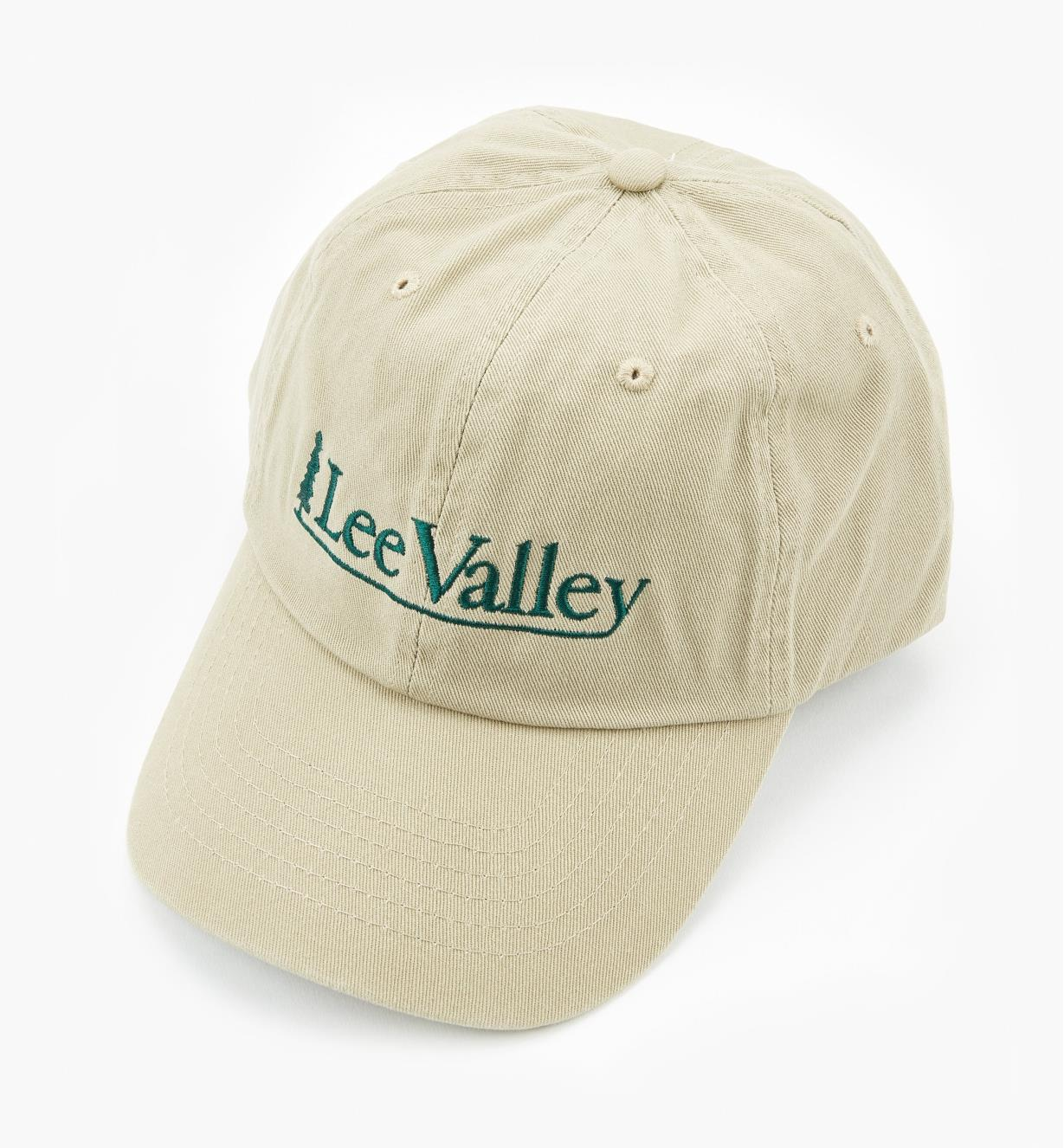 67K9921 - Lee Valley Baseball Cap, Khaki