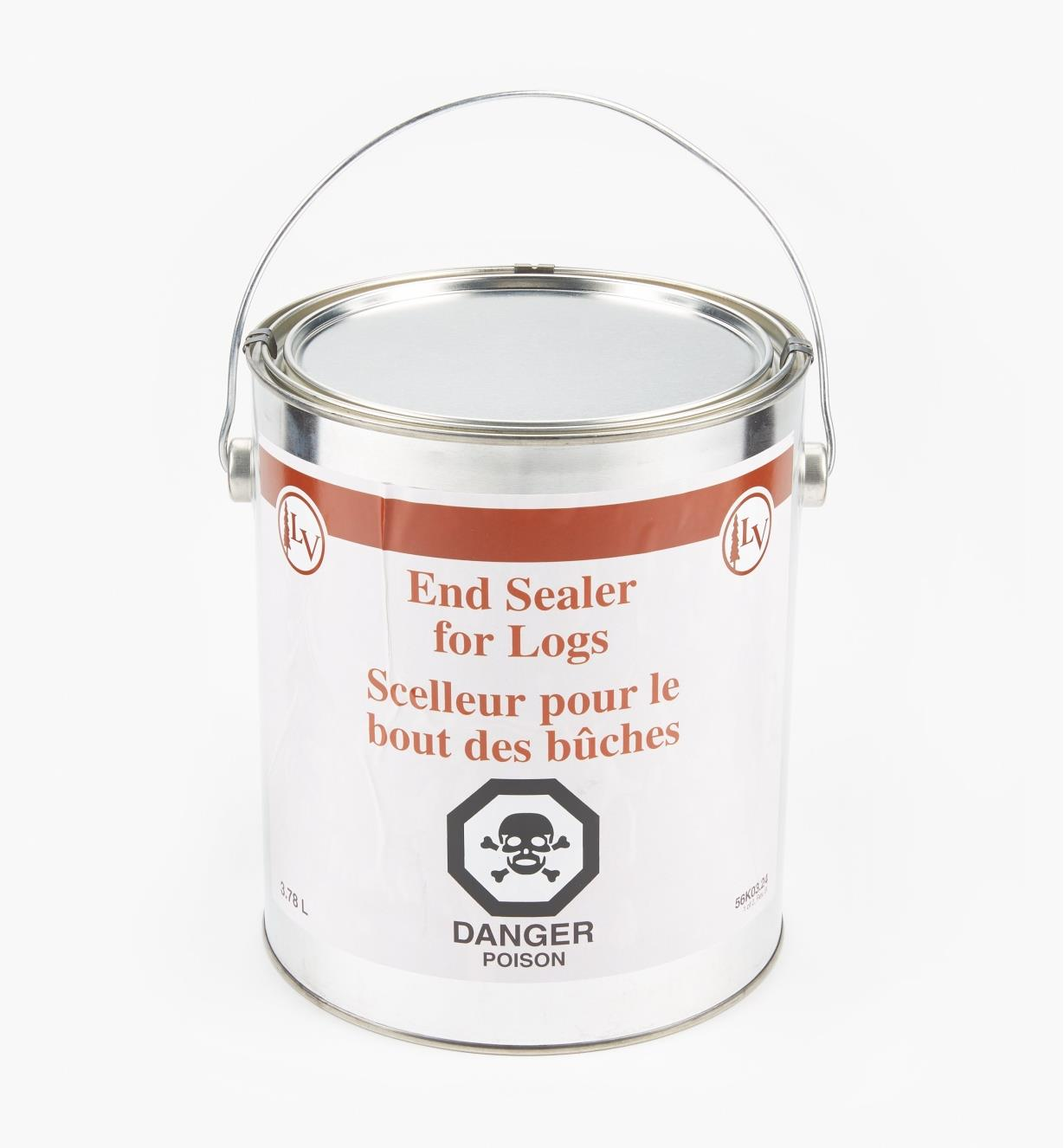 56K0324 - End Sealer, 4 qt. (3.78l)