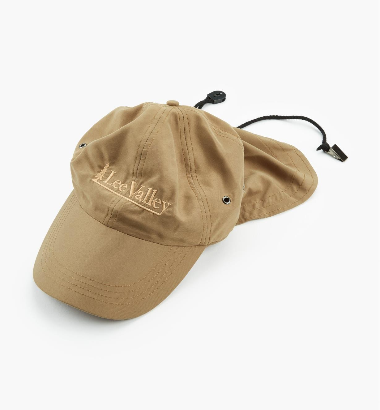 67K9940 - Lee Valley Sun Cap, Khaki