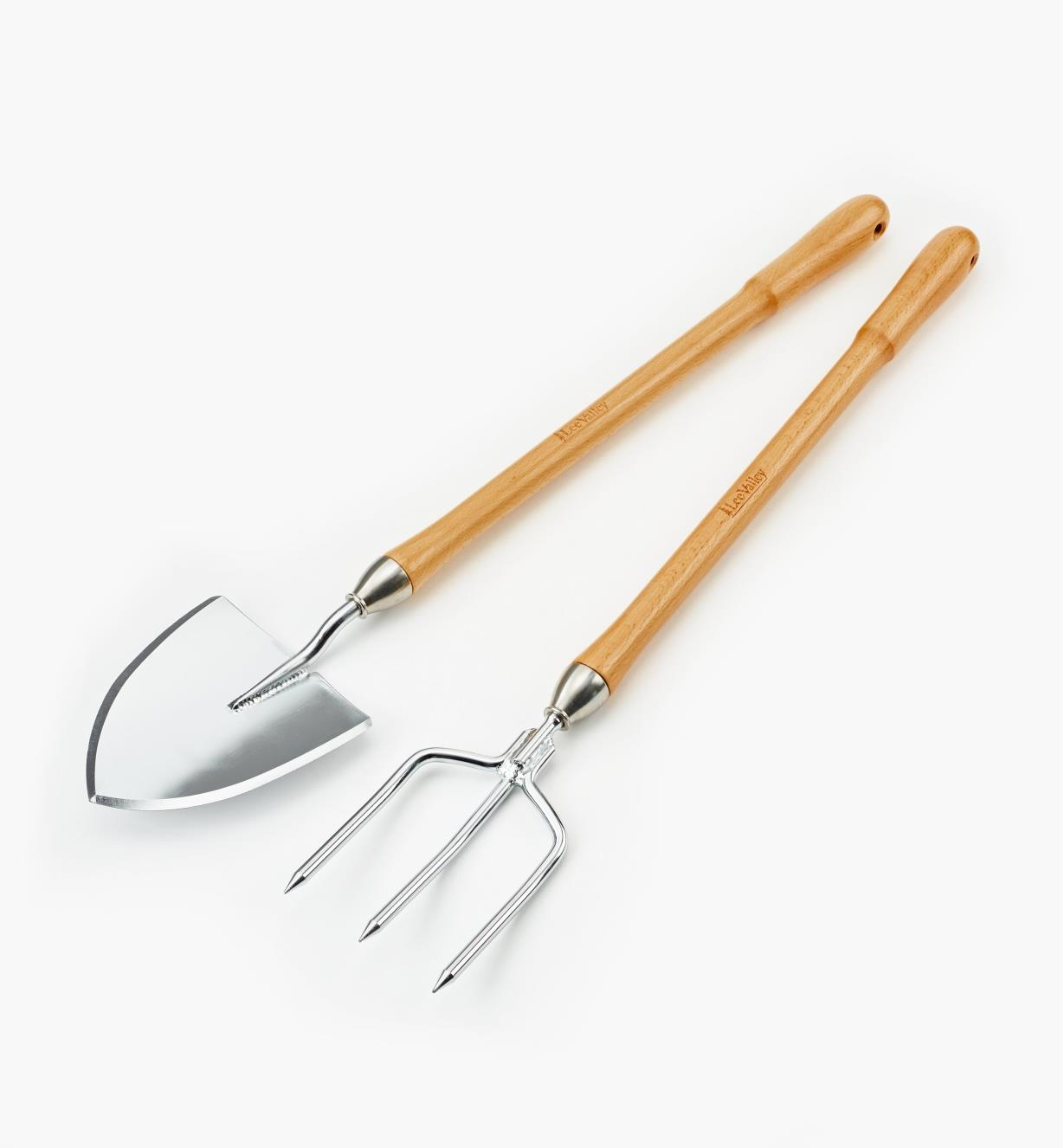 AB695 - Lee Valley Perennial Spade & Fork Set