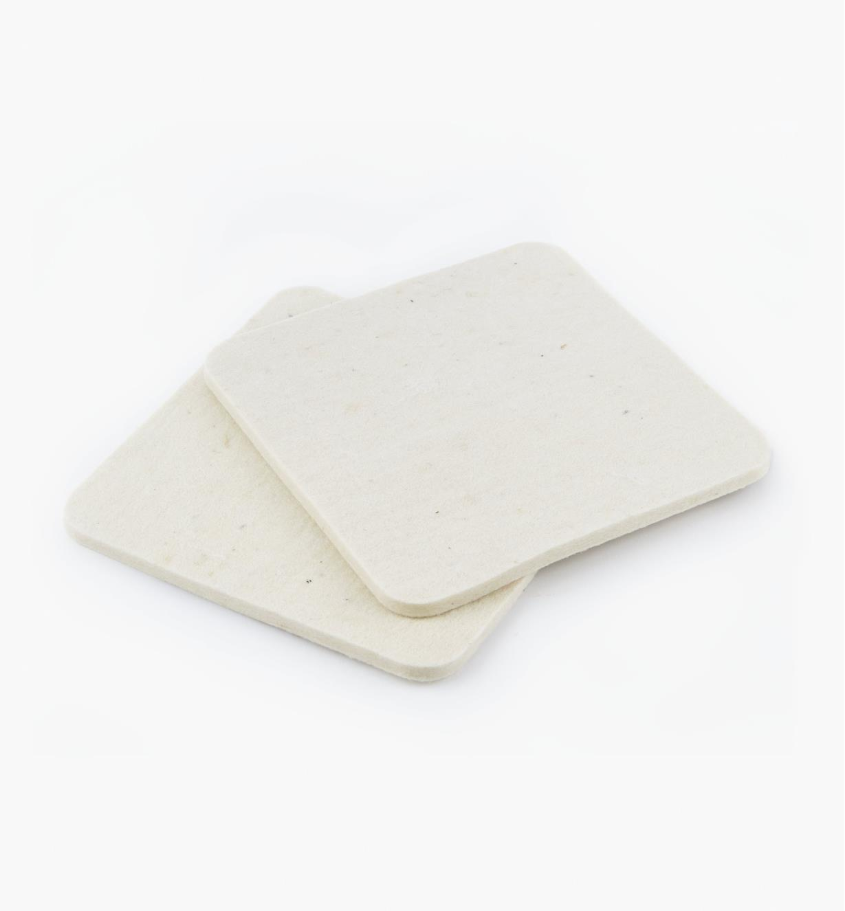 GM423 - Reg. Repl. Wool Pads, pkg. of 2
