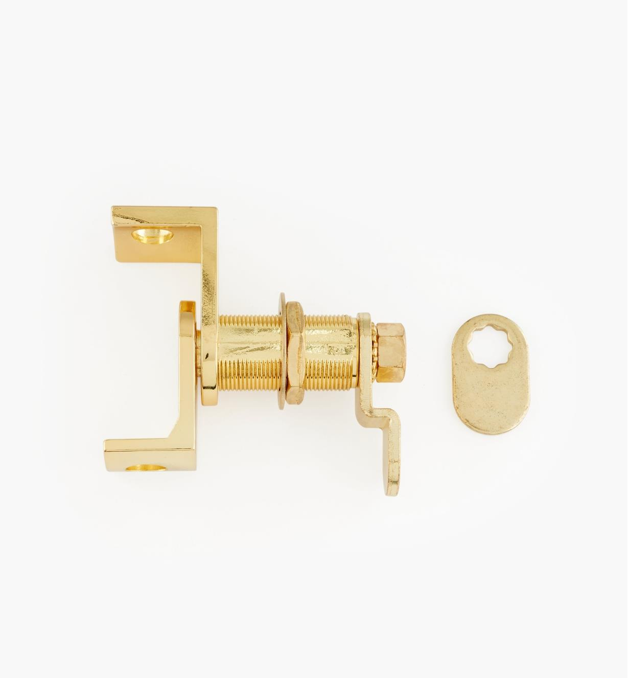00L1020 - Polished Brass Cam Latch