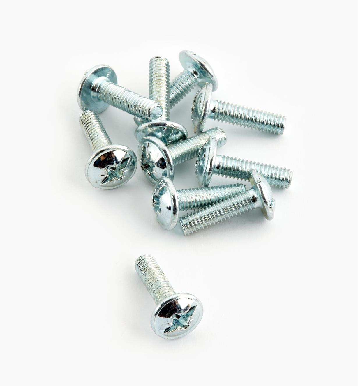 00N3315 - 15mm M4 Bolts, pkg. of 10
