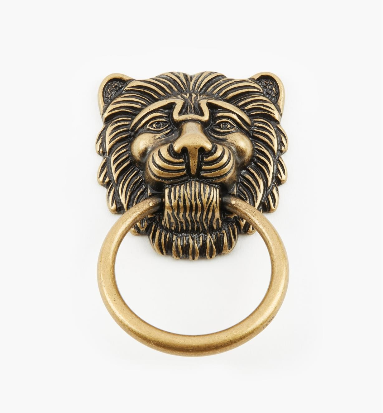 01A7387 - Lg. Lion's Head Ring Pull