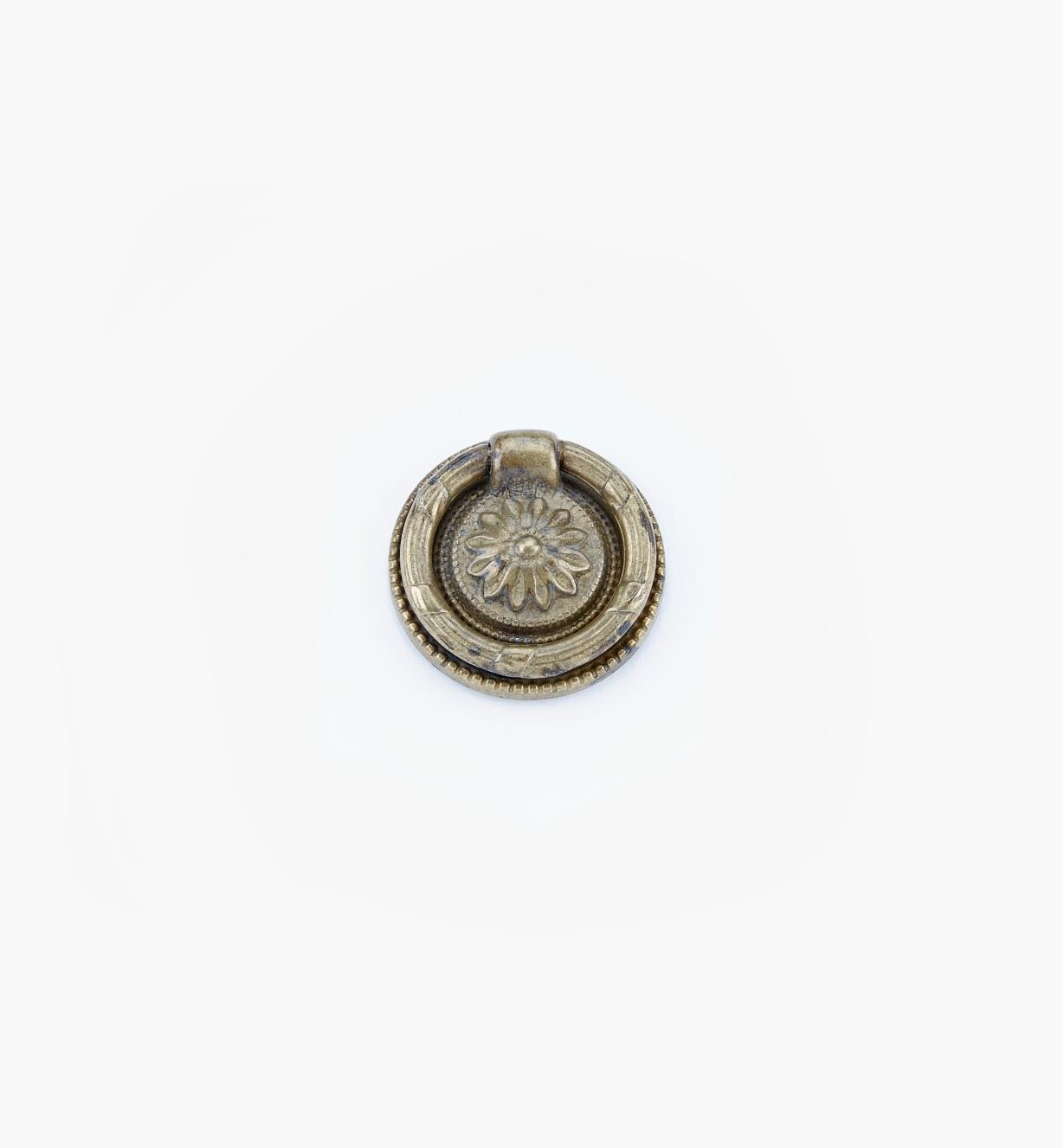 01A7438 - 38mm Old Brass Ring Pull