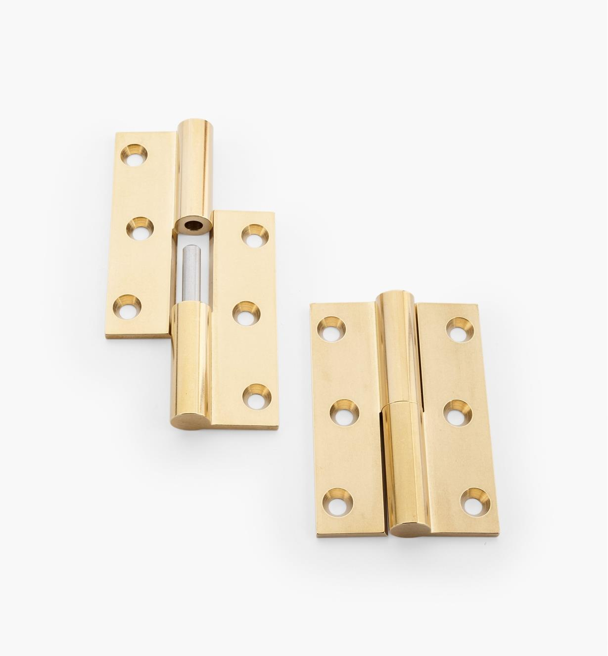 "01B1451 - 2 1/2"" Right Hinges, pair"