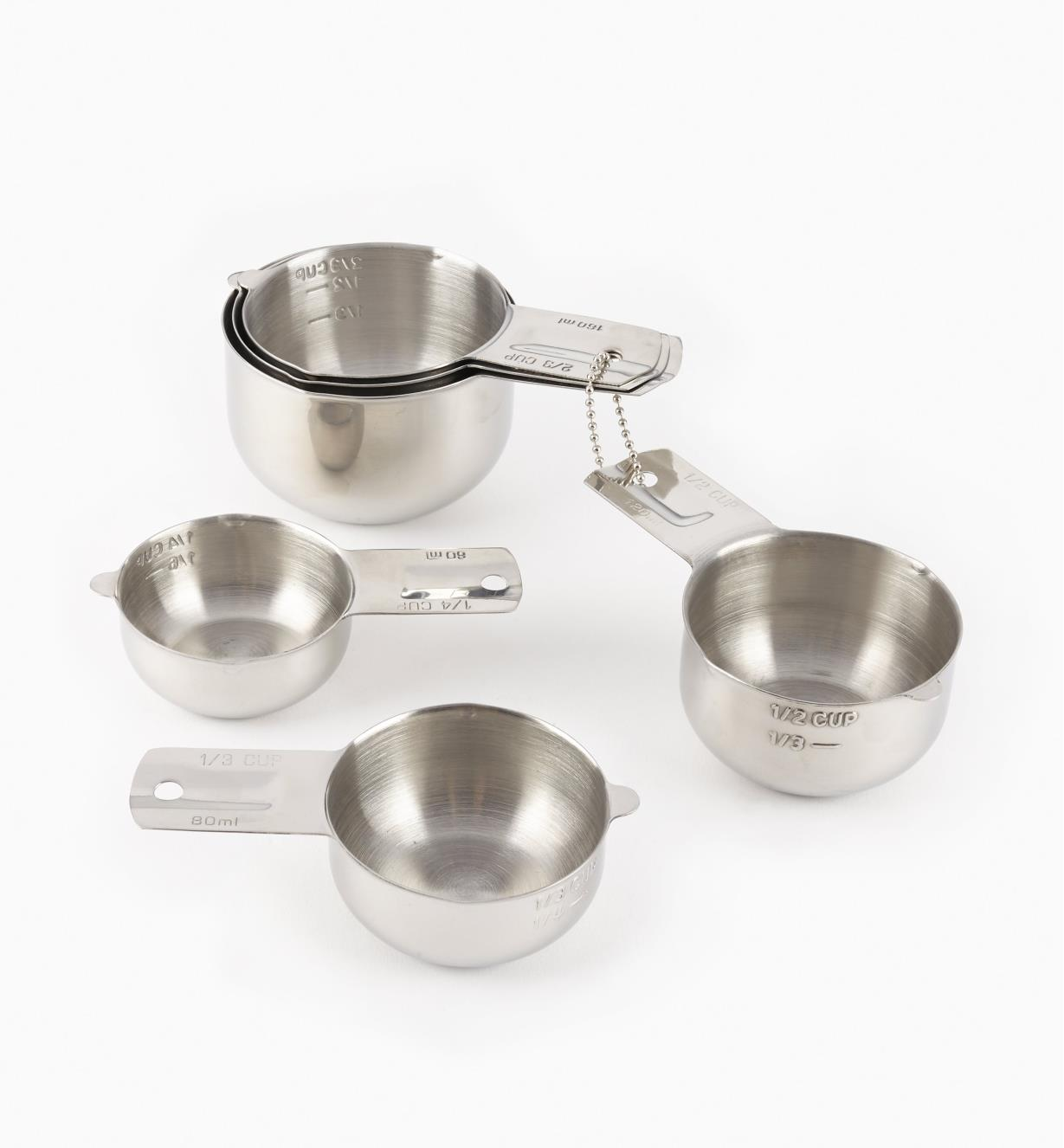 EV105 - Lifetime Measuring Cups, set of 6