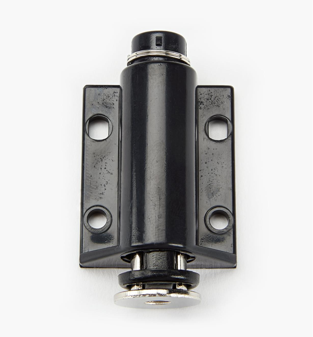 00W0206 - Black Single Magnetic Latch, ea.