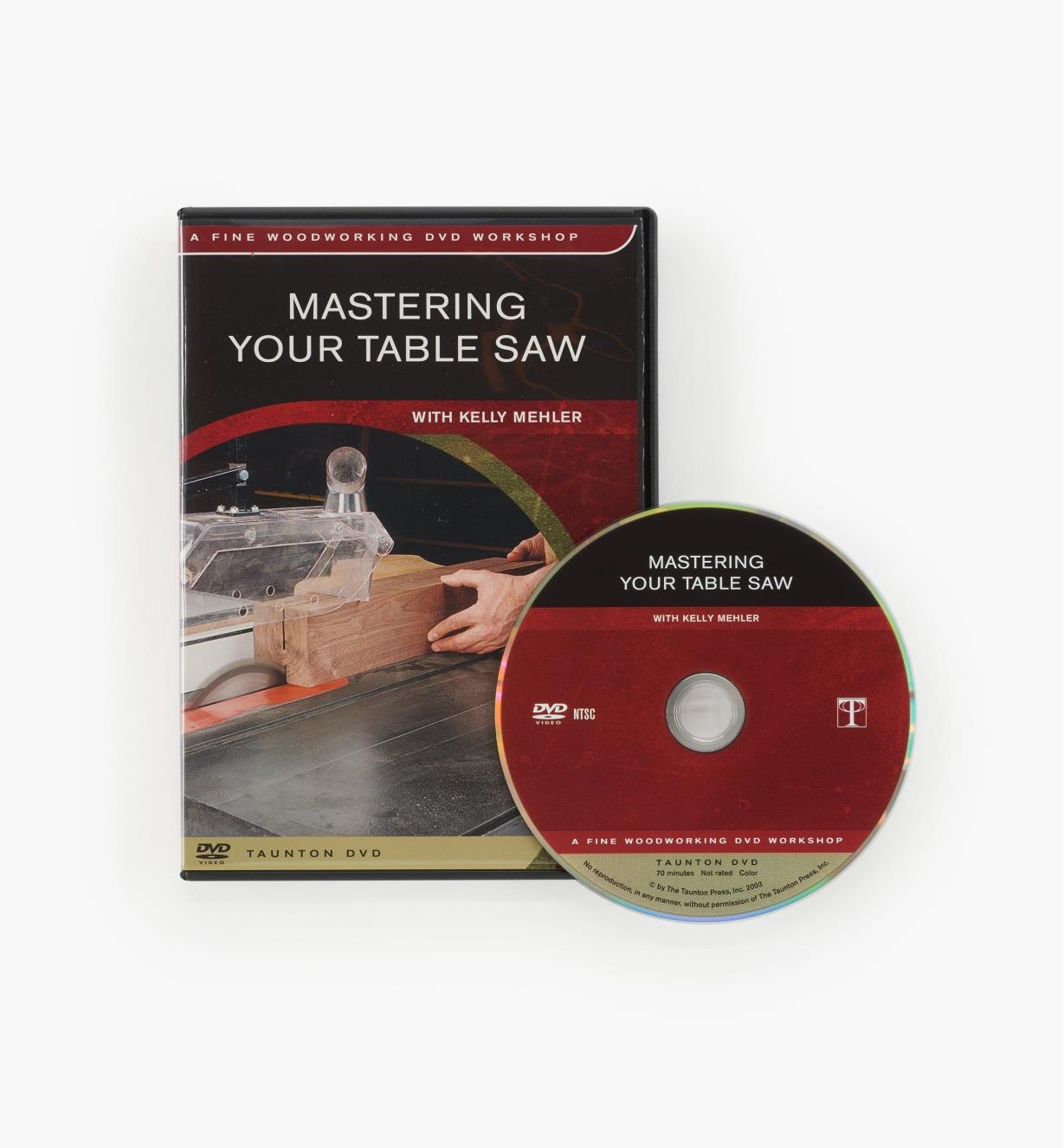 73L1019 - Mastering Your Table Saw — DVD