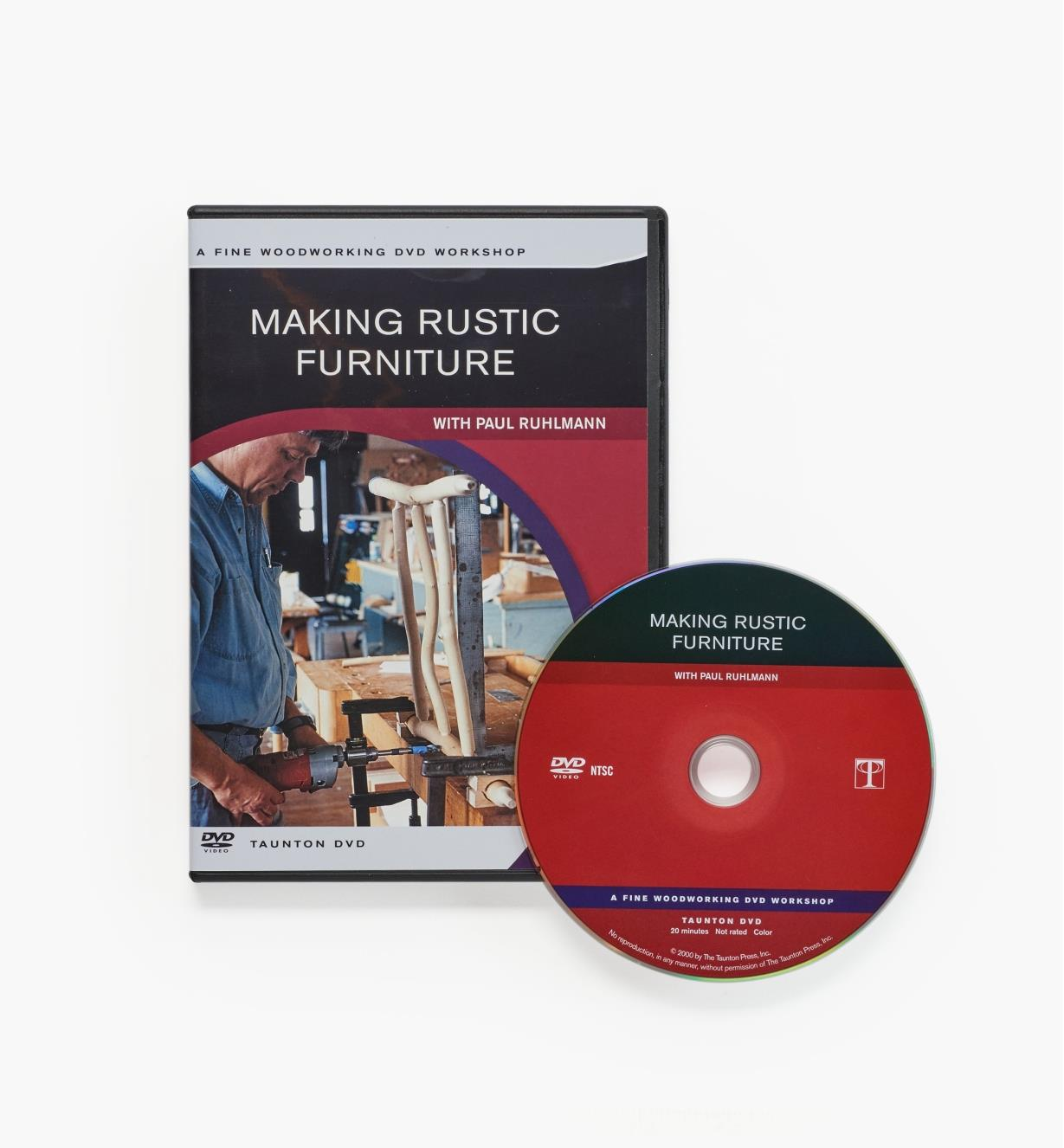 73L1024 - Making Rustic Furniture — DVD