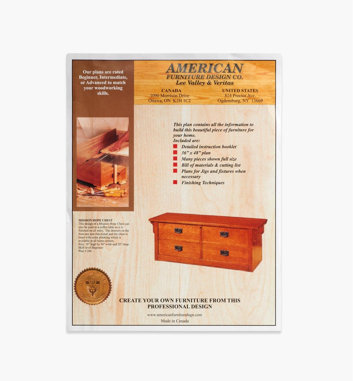 01L5034 - Mission Hope Chest Plan