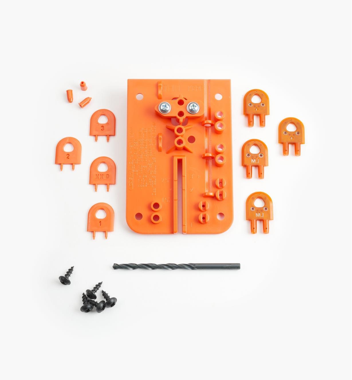 03J8026 - Couteaux diviseurs MicroJig pour professionnel, lames minces