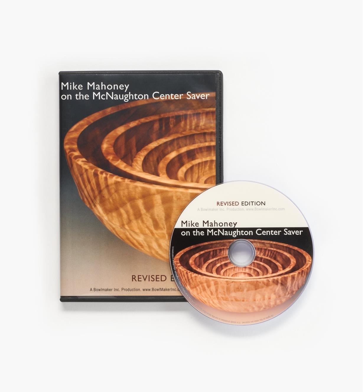26L3203 - Mike Mahoney on the McNaughton Center Saver – DVD