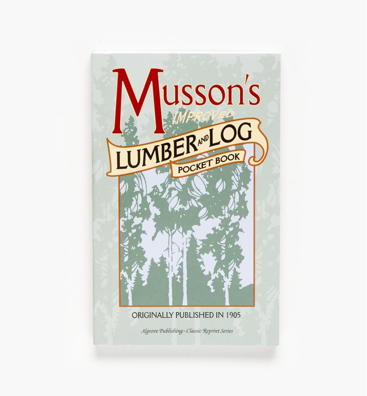 49L8135 - Musson's Improved Lumber and Log Pocket Book