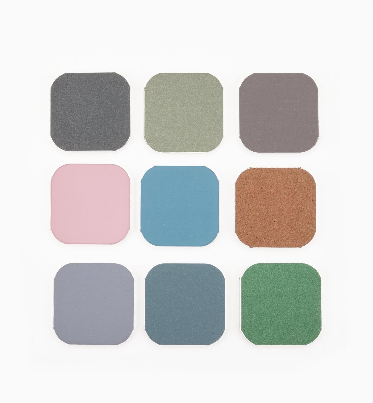 54K9020 - Set of 9 Micro-MeshPen-Sanding Pads