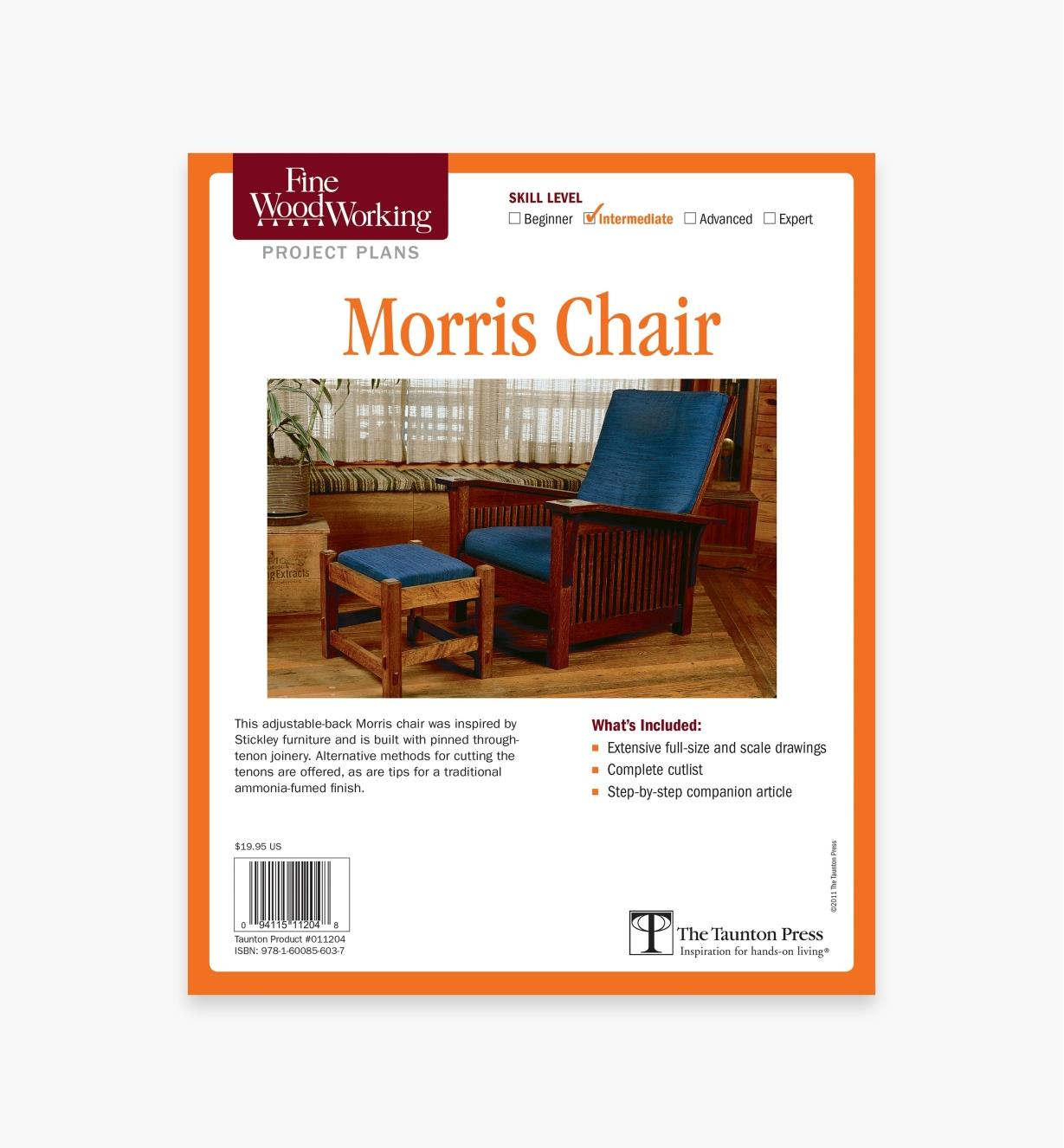 73L2519 - Morris Chair Plan