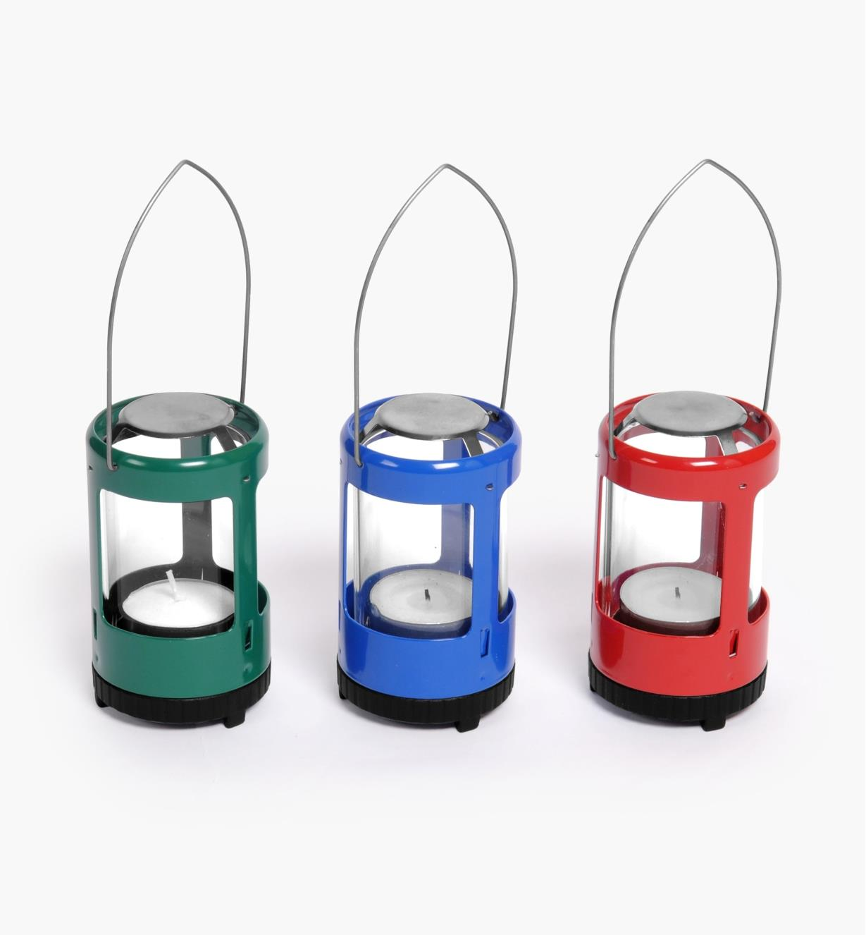 GB315 - Miniature Candle Lantern, assorted colors (store only)