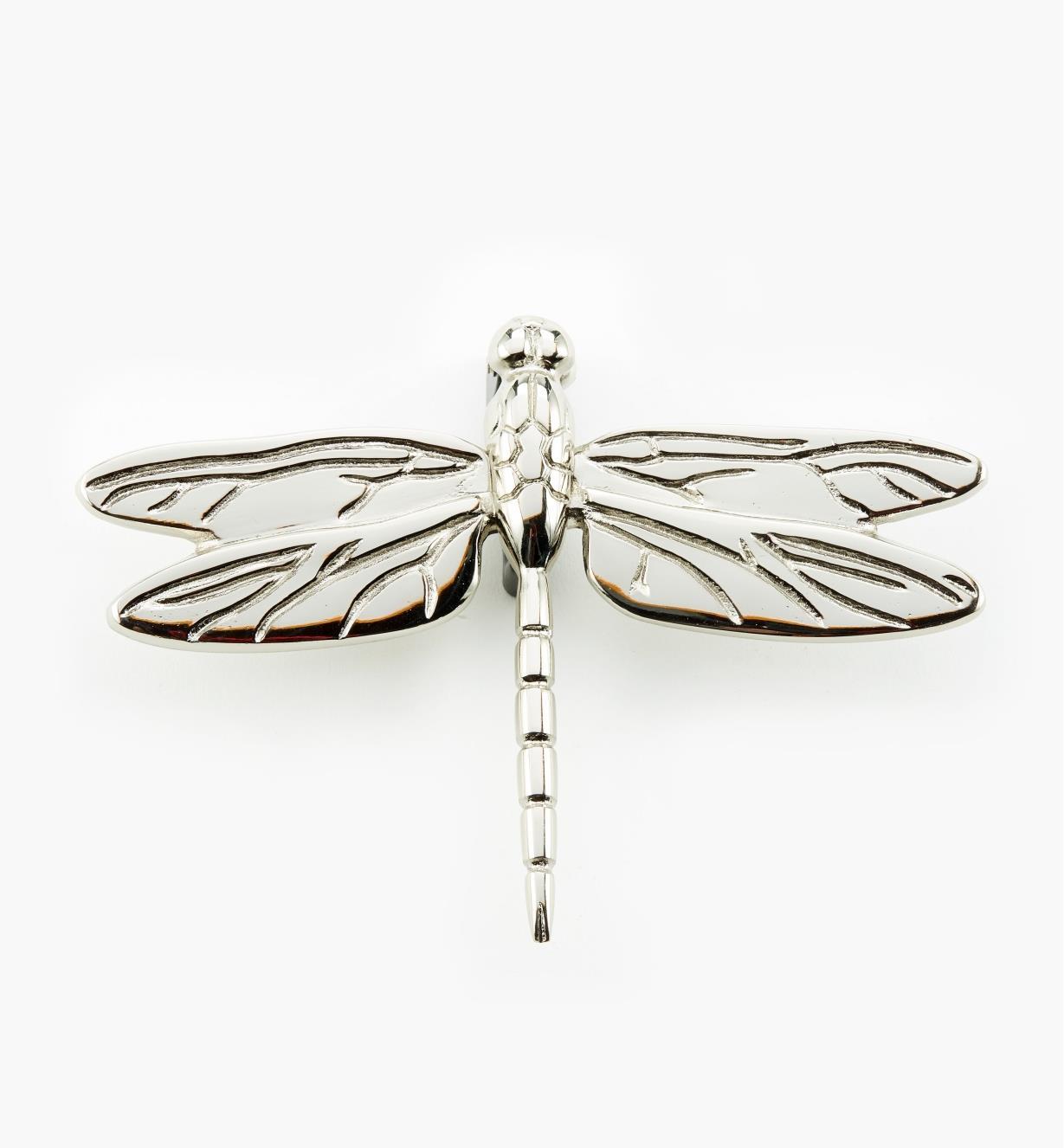 00W0813 - Satin Nickel Dragonfly Door Knocker