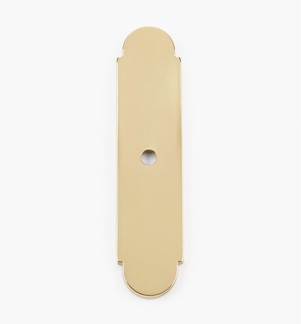 00W8835 - Brass Knob Escutcheon