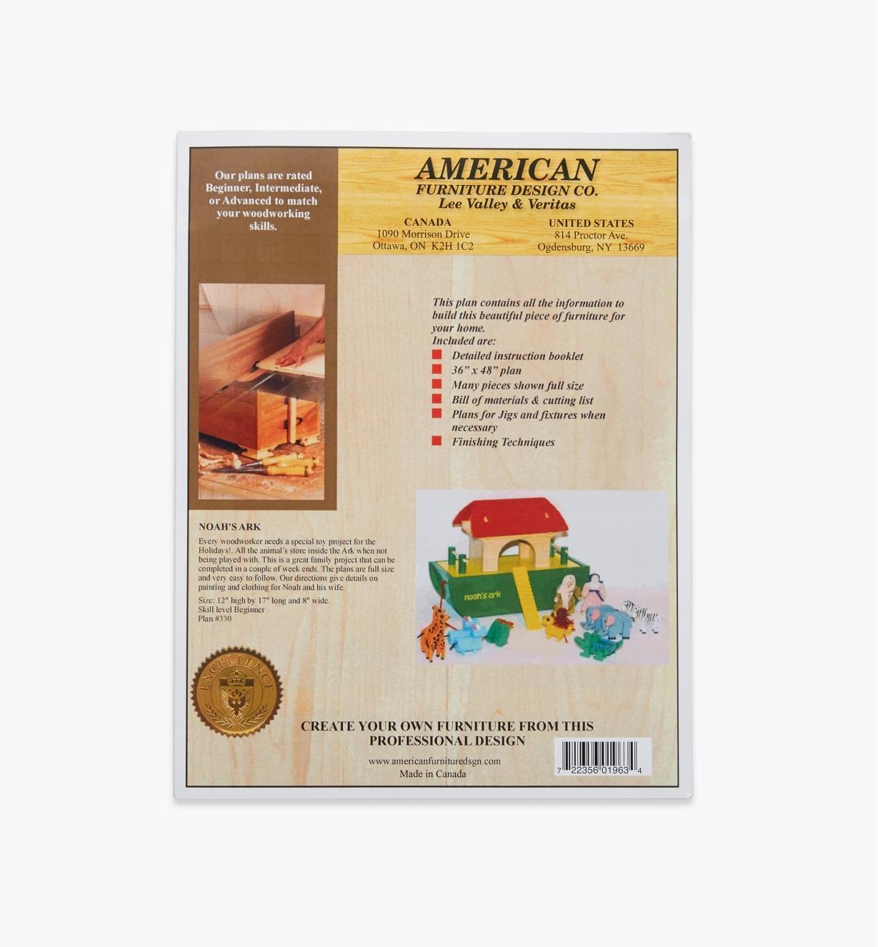 01L5113 - Noah's Ark Plan