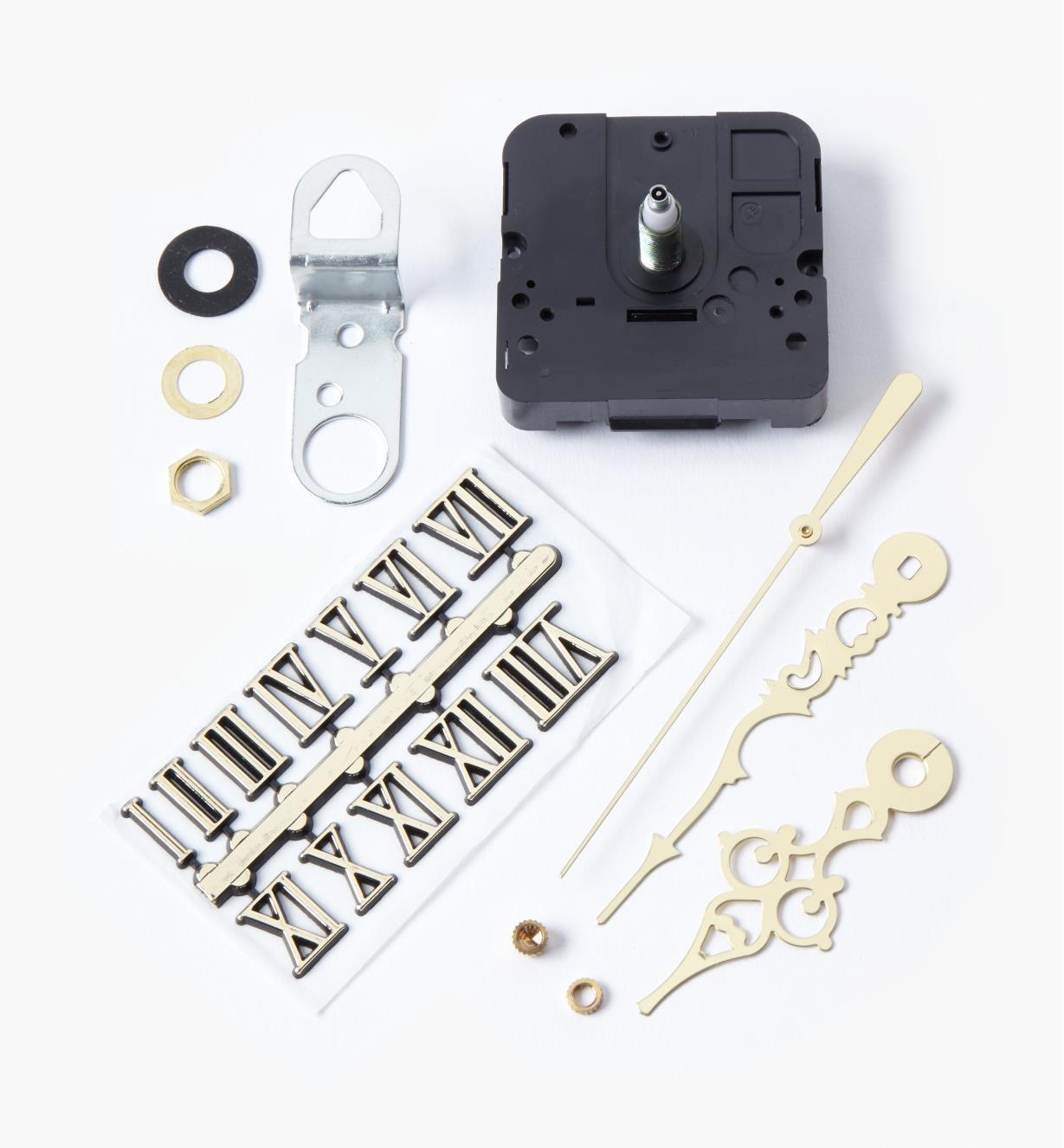 "46K3150 - 1/4"" Numeral Clock Kit, Roman"
