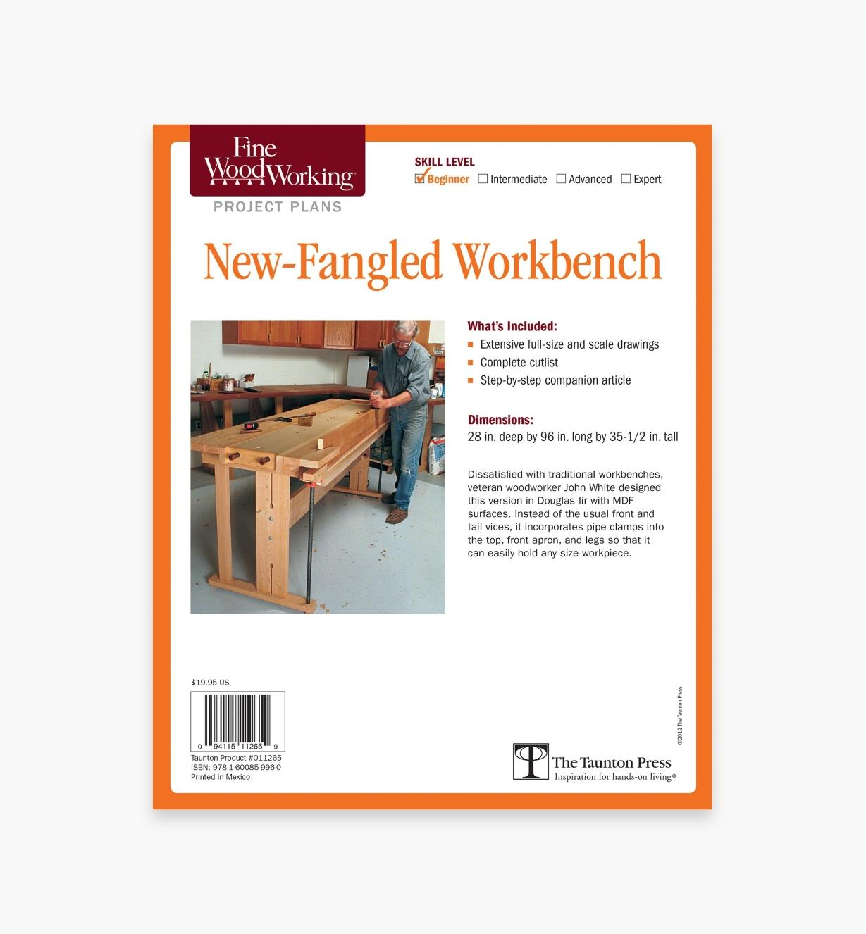 73L2546 - New-Fangled Workbench Plan
