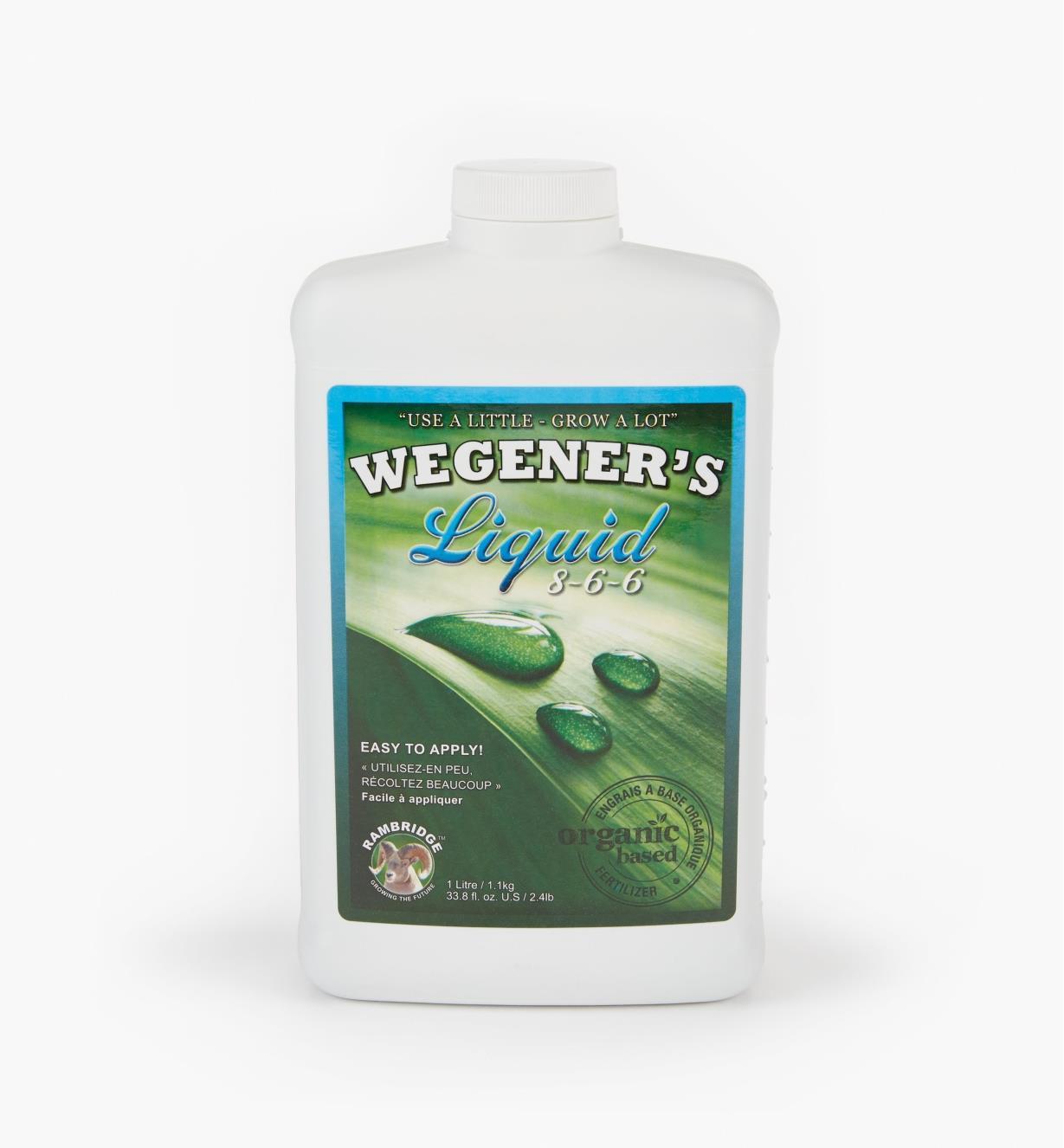HK565 - 1 litre (34 fl oz) Organic Growth Promotant 8-6-6