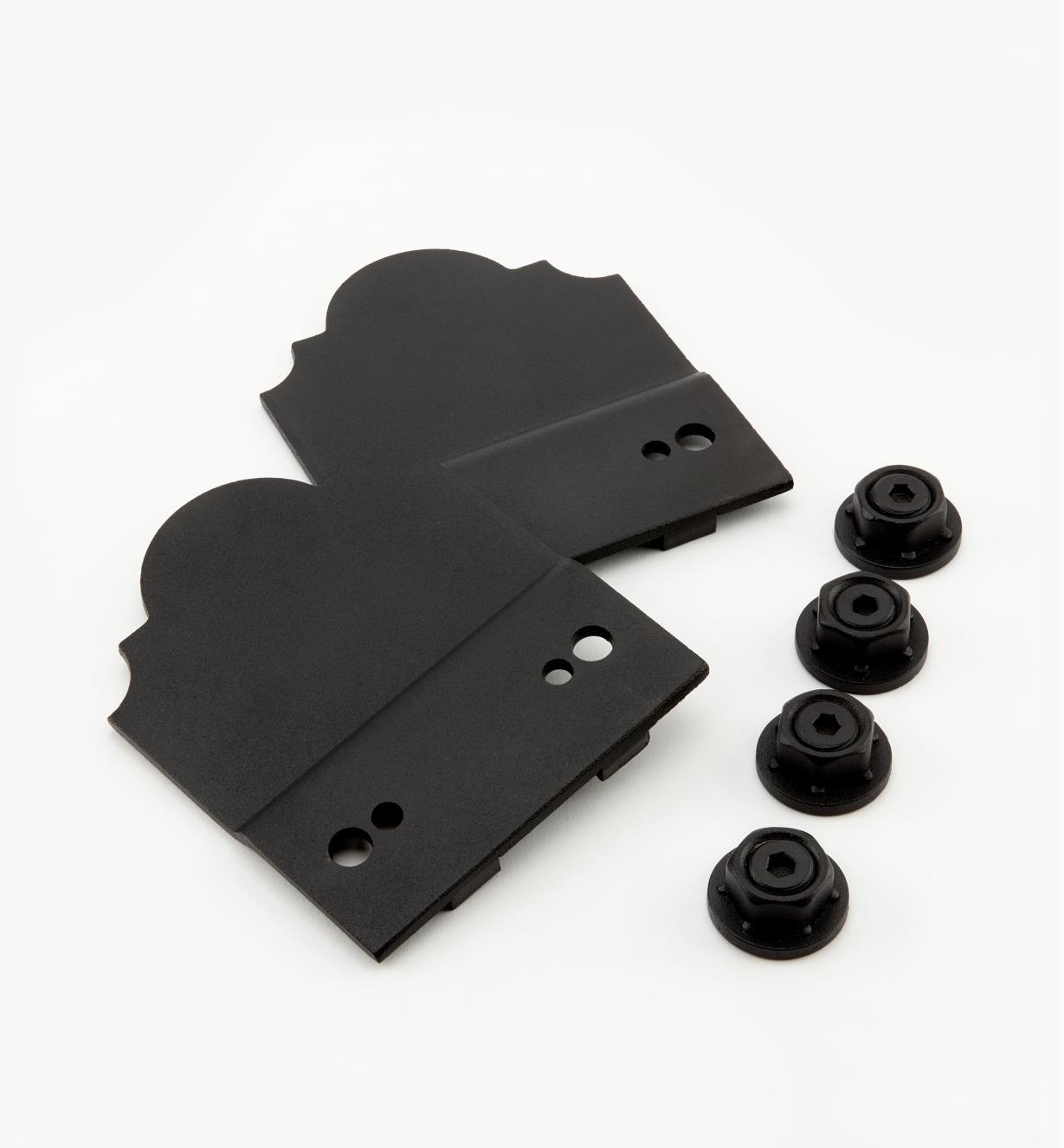 01S1850 - Ozco Accent Plates, pkg. of 2