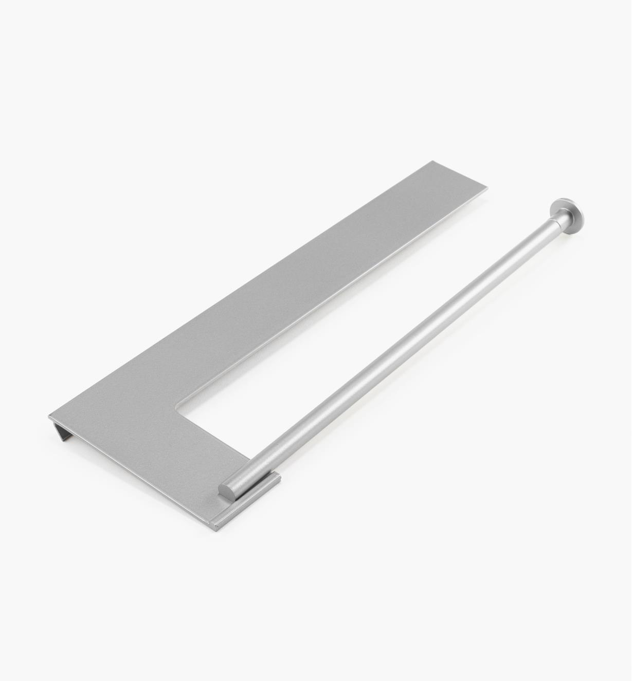 12K5121 - Aluminum Wall-Mount Paper Towel Rack