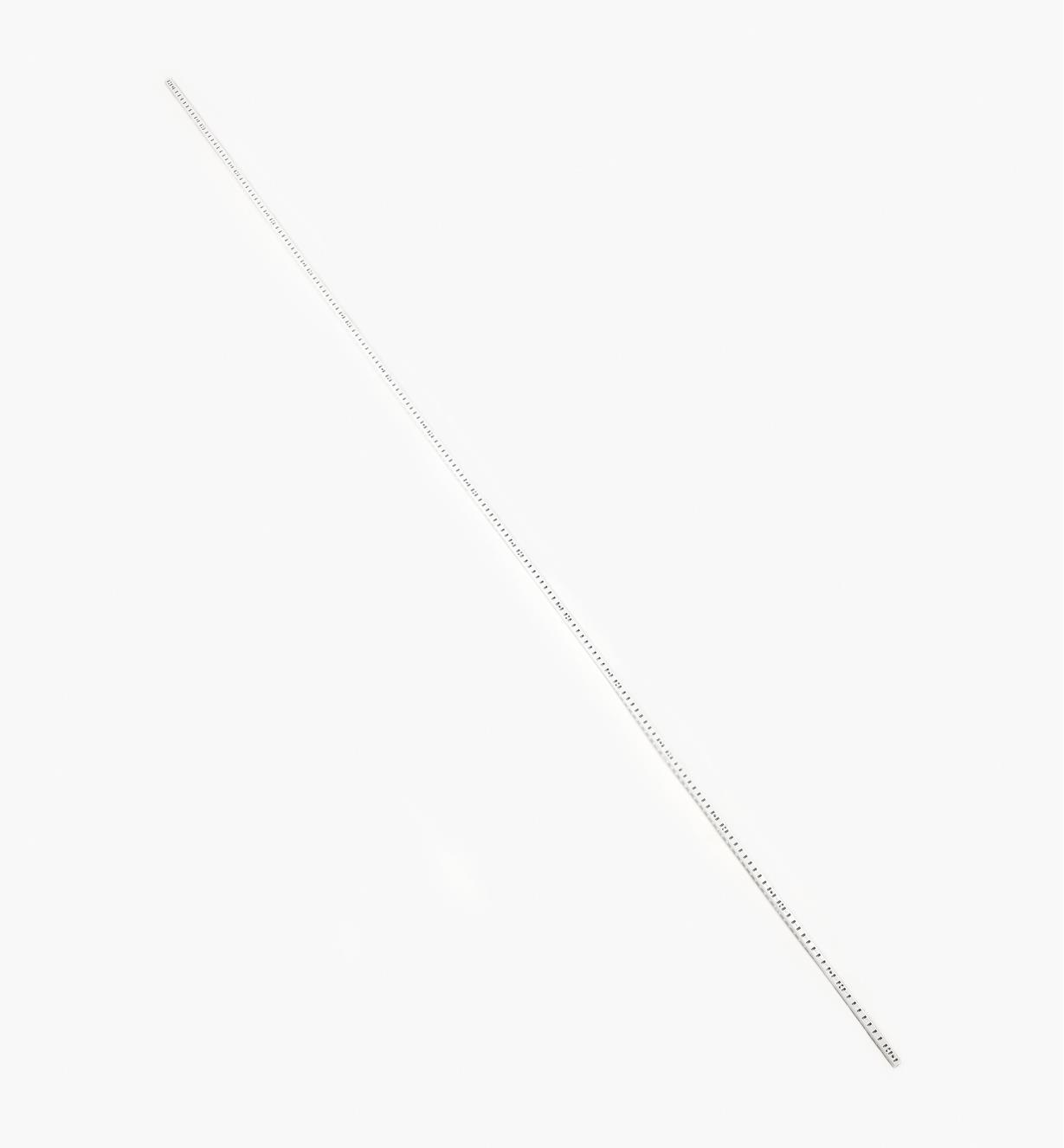17K4032 - Crémaillère de 96po, fini blanc