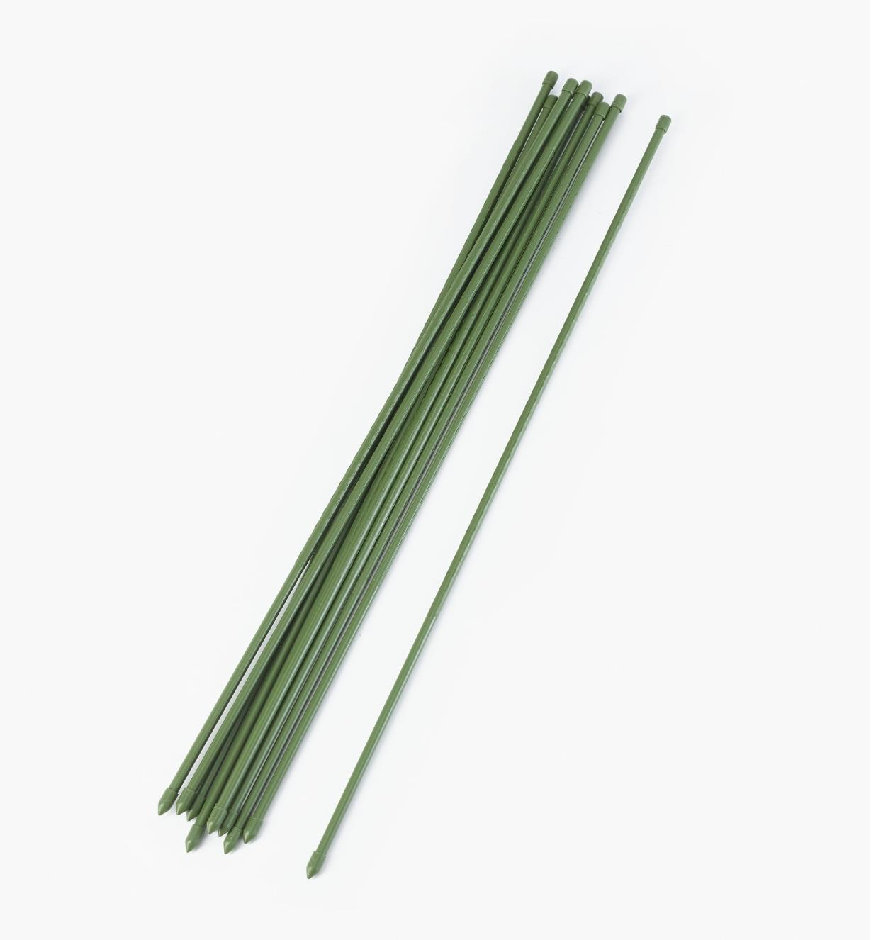 "XM206 - 35"" Permanent Stakes, pkg. of 10"