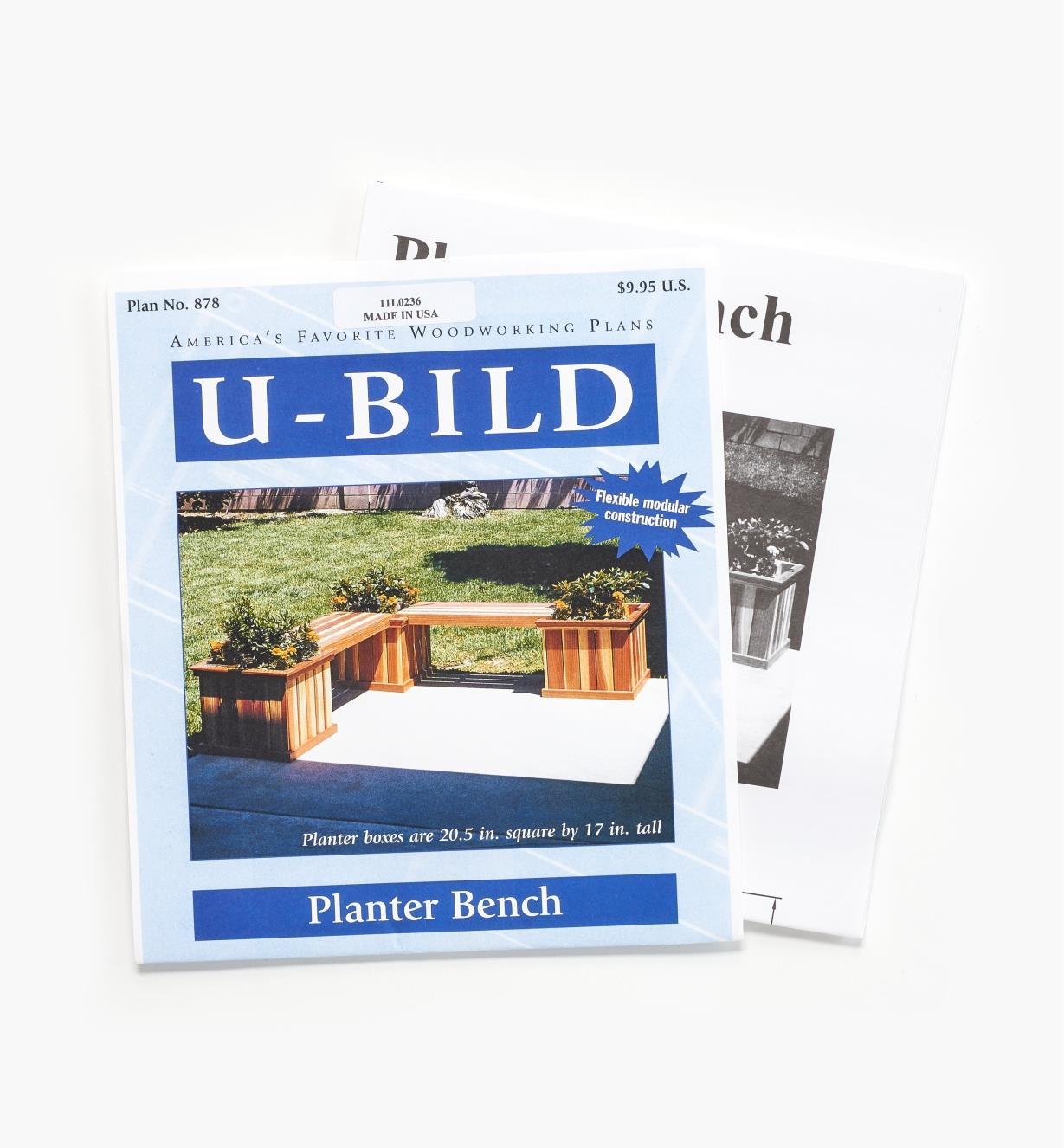 11L0236 - Planter Bench Plan