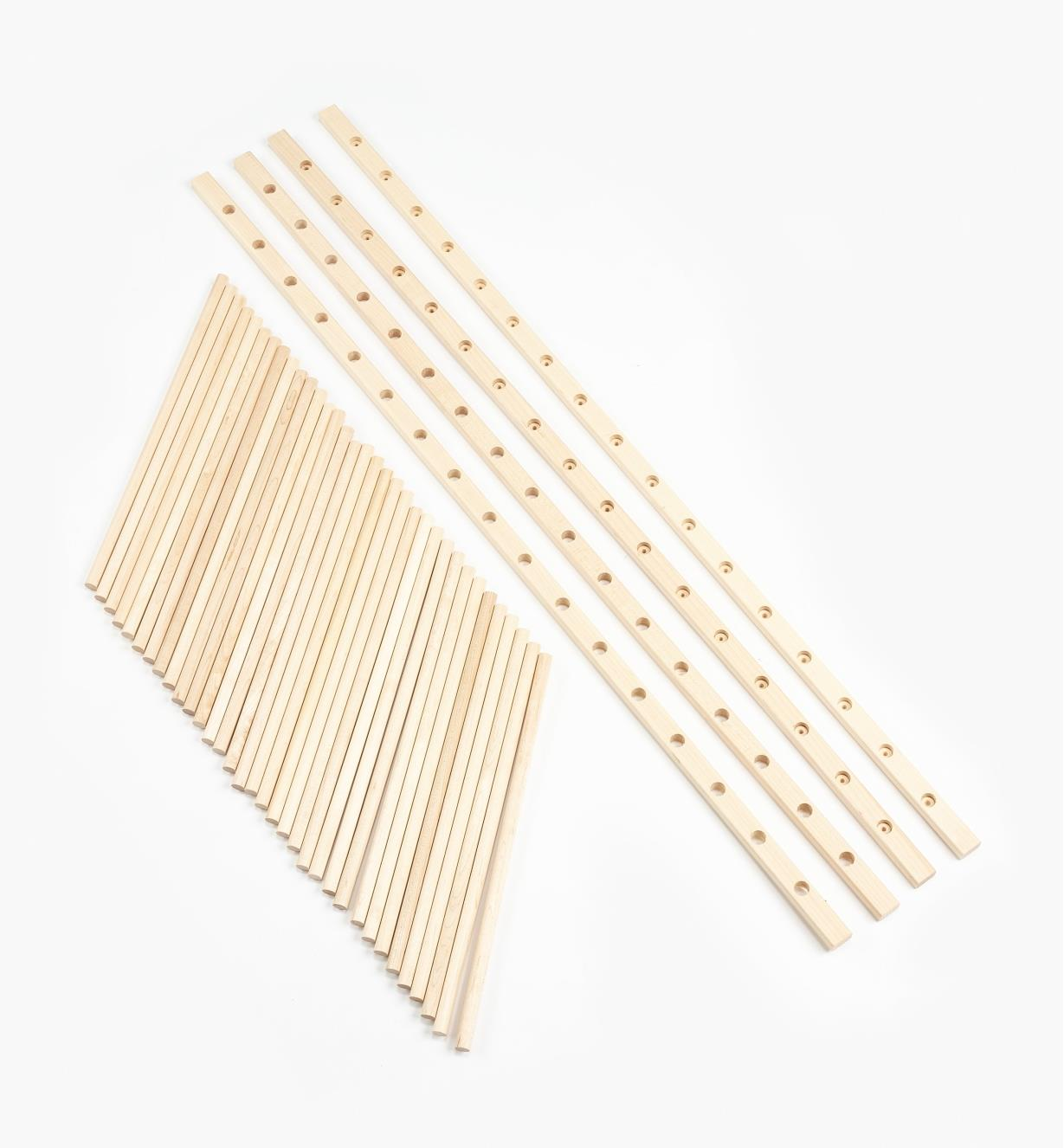 12K7470 - Plate Rack Kit, Maple
