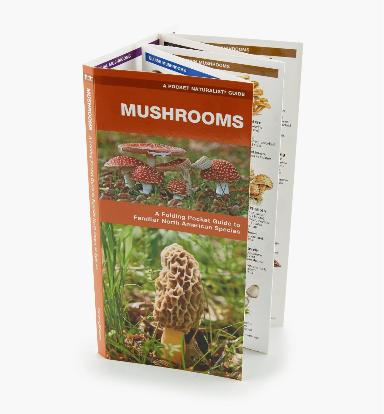 LA256 - Mushrooms Pocket Guide