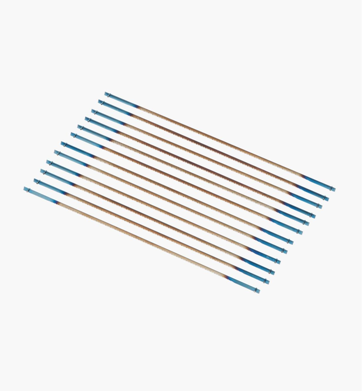 02T1080 - 10tpi Pégas Coping Saw Blades, pkg. of 12
